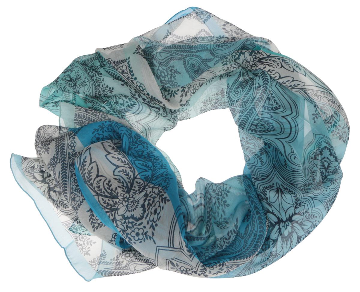 ШарфCX1516-56-8Модный женский шарф Fabretti подарит вам уют и станет стильным аксессуаром, который призван подчеркнуть вашу индивидуальность и женственность. Тонкий шарф выполнен из высококачественного шелка, он невероятно мягкий и приятный на ощупь. Шарф оформлен изысканным цветочным принтом. Этот модный аксессуар гармонично дополнит образ современной женщины, следящей за своим имиджем и стремящейся всегда оставаться стильной и элегантной. Такой шарф украсит любой наряд и согреет вас в непогоду, с ним вы всегда будете выглядеть изысканно и оригинально.