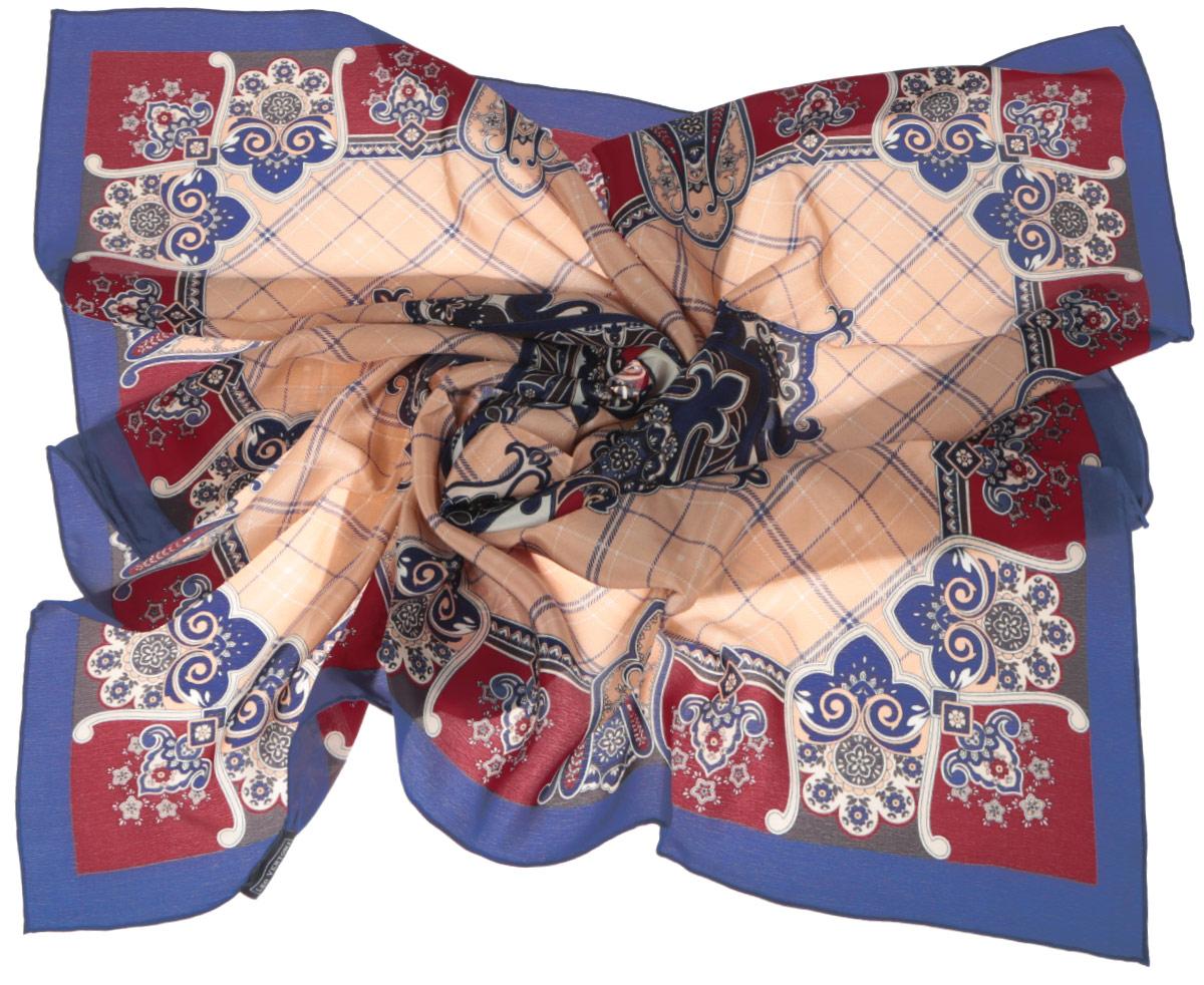 ПлатокCX1516-50-6Стильный женский платок Fabretti станет великолепным завершением любого наряда. Платок изготовлен из высококачественного 100% шелка и оформлен принтом в клетку и оригинальным цветочным орнаментом. Классическая квадратная форма позволяет носить платок на шее, украшать им прическу или декорировать сумочку. Мягкий и шелковистый платок поможет вам создать изысканный женственный образ, а также согреет в непогоду. Такой платок превосходно дополнит любой наряд и подчеркнет ваш неповторимый вкус и элегантность.
