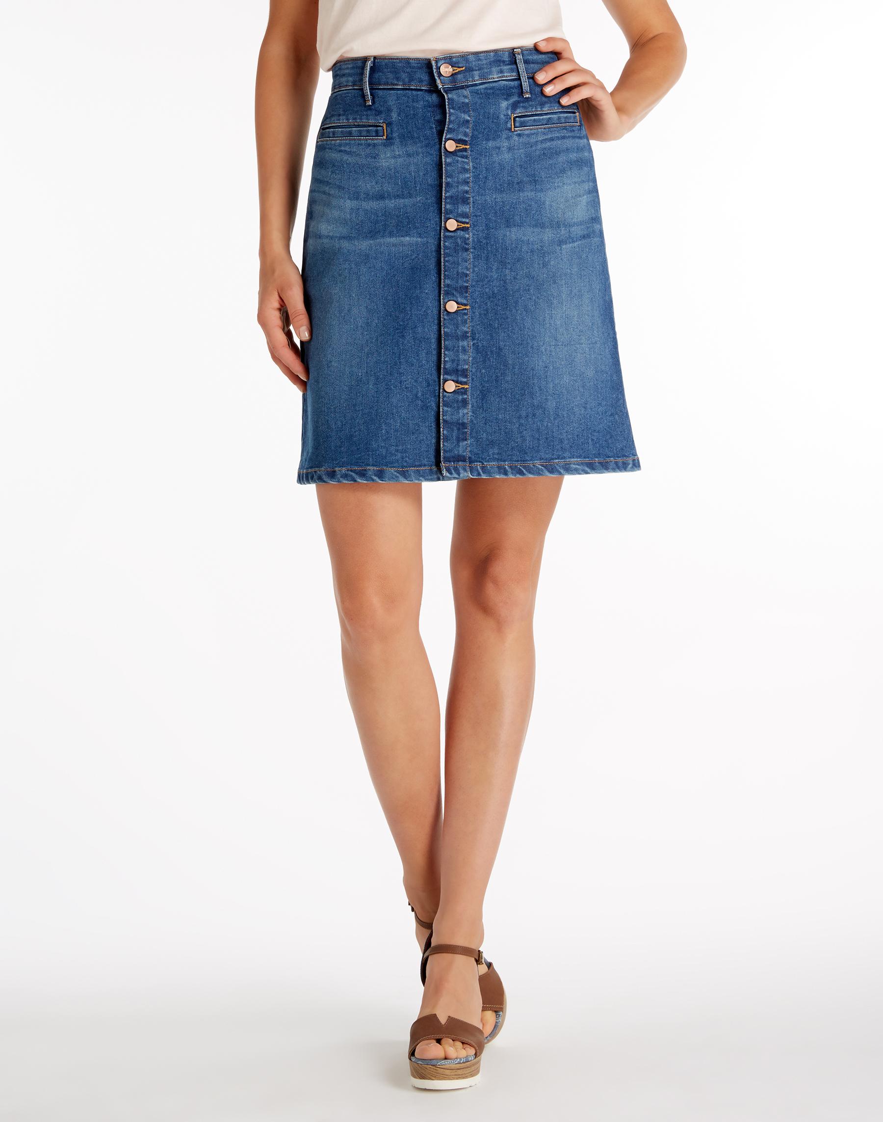 Вранглер джинсовая юбка