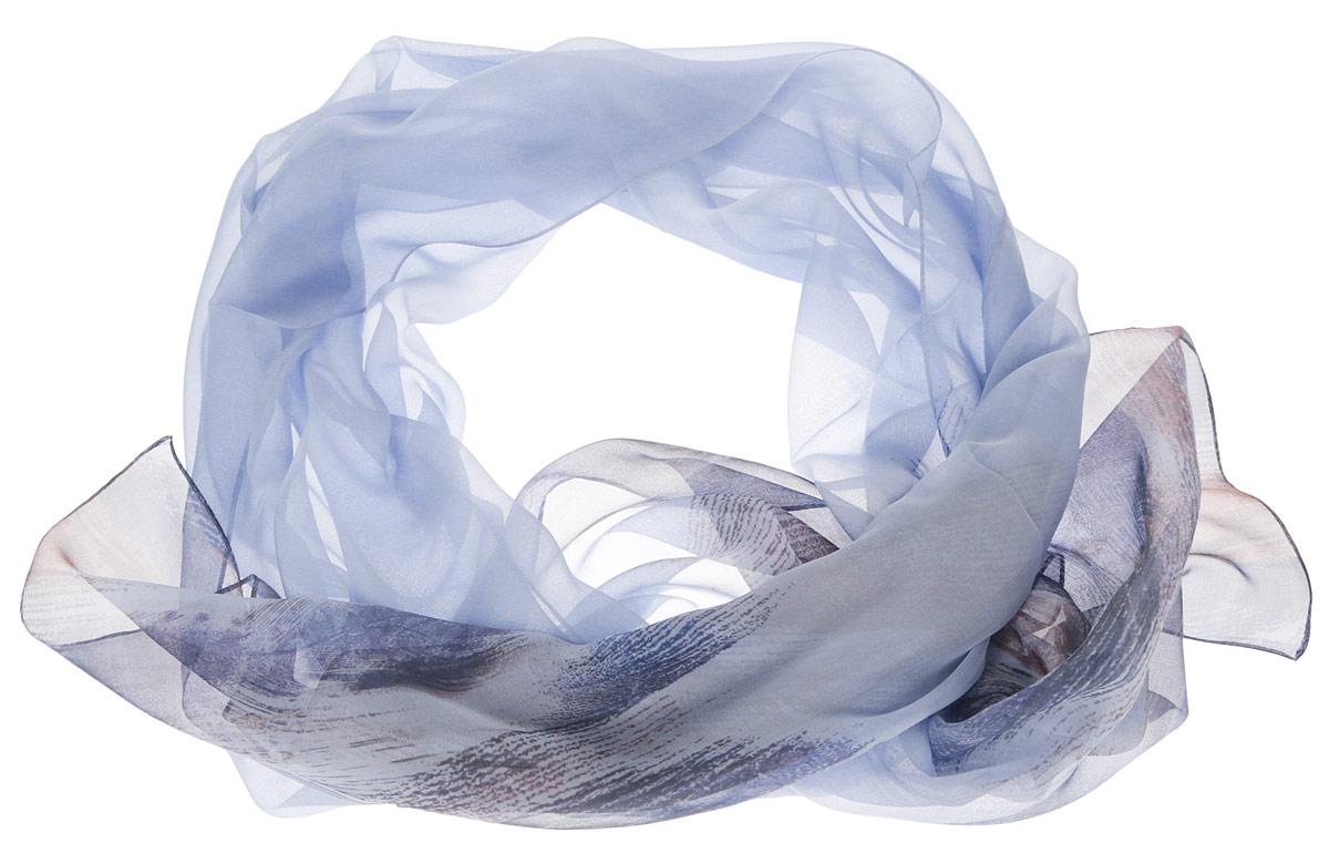 Шарф женский. N0502N0502-2Женский шарф Leo Ventoni позволит вам создать неповторимый и запоминающийся образ. Изготовленный из высококачественного шелка, он очень легкий, полупрозрачный, имеет приятную на ощупь текстуру. Модель оформлена оригинальным принтом. Такой аксессуар станет стильным дополнением к гардеробу современной женщины, стремящейся всегда оставаться яркой и элегантной.