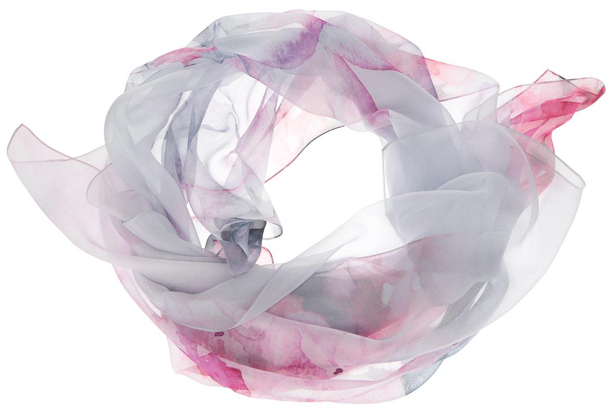 Шарф женский. F16SSF16SS-02Женский шарф Leo Ventoni позволит вам создать неповторимый и запоминающийся образ. Изготовленный из высококачественного шелка, он очень легкий, мягкий, имеет приятную на ощупь текстуру. Модель оформлена цветочным принтом. Такой аксессуар станет модным дополнением к гардеробу современной женщины, стремящейся всегда оставаться стильной и элегантной.