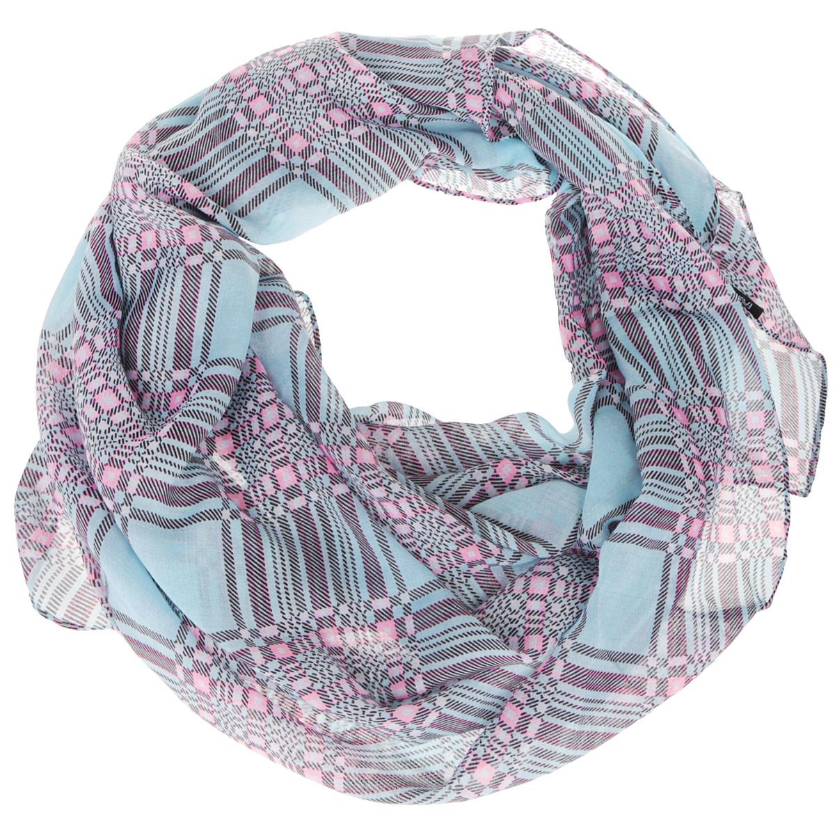 Шарф женский. RH15152RH15152-102Модный женский шарф Fabretti подарит вам уют и станет стильным аксессуаром, который призван подчеркнуть вашу индивидуальность и женственность. Тонкий шарф выполнен из высококачественной 100% вискозы, он невероятно мягкий и приятный на ощупь. Шарф оформлен принтом в крупную клетку. Этот модный аксессуар гармонично дополнит образ современной женщины, следящей за своим имиджем и стремящейся всегда оставаться стильной и элегантной. Такой шарф украсит любой наряд и согреет вас в непогоду, с ним вы всегда будете выглядеть изысканно и оригинально.