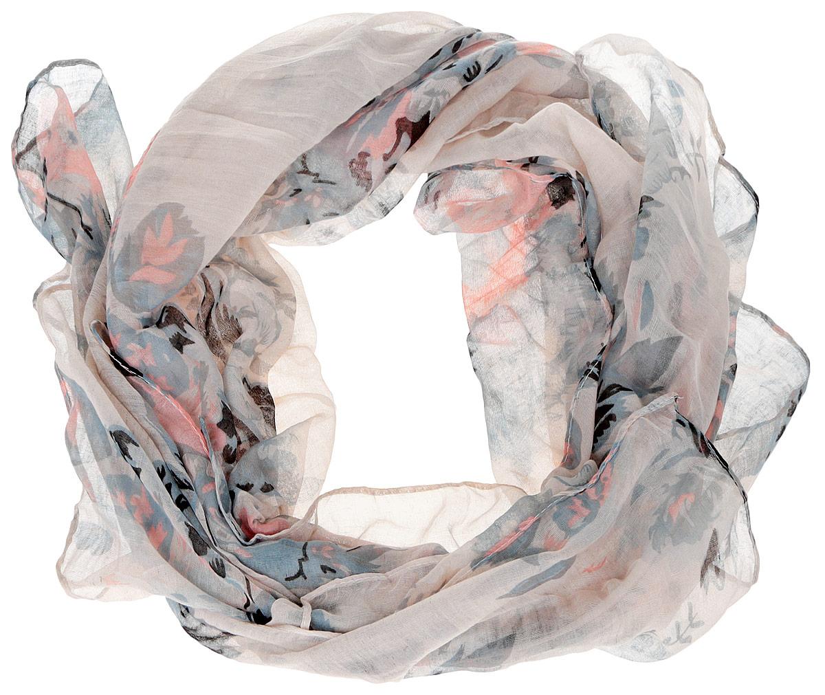 B16-11412Женский шарф Finn Flare станет изысканным аксессуаром, который подчеркнет вашу индивидуальность. Выполненный из вискозы, он очень мягкий и приятный на ощупь. Модель оформлена цветочным принтом. Такой шарф станет стильным дополнением к гардеробу современной женщины, а также подарит ощущение комфорта и уюта.