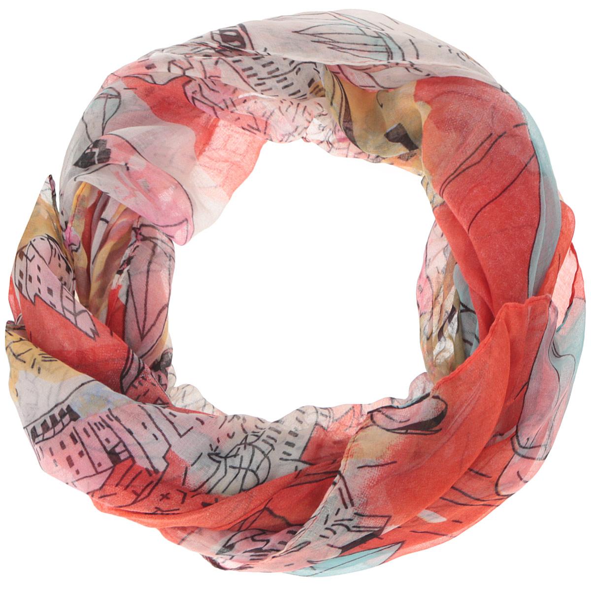 ШарфJH627-6Модный женский шарф Fabretti подарит вам уют и станет стильным аксессуаром, который призван подчеркнуть вашу индивидуальность и женственность. Тонкий шарф выполнен из высококачественной 100% вискозы, он невероятно мягкий и приятный на ощупь. Шарф оформлен сложным узором с изображением парусников и домов. Этот модный аксессуар гармонично дополнит образ современной женщины, следящей за своим имиджем и стремящейся всегда оставаться стильной и элегантной. Такой шарф украсит любой наряд и согреет вас в непогоду, с ним вы всегда будете выглядеть изысканно и оригинально.