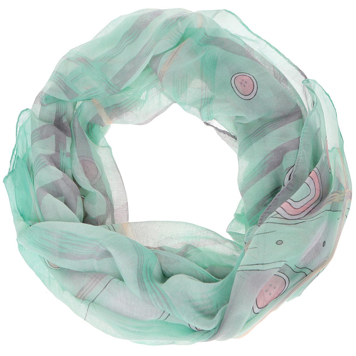 ШарфTUT318-1Модный женский шарф Fabretti подарит вам уют и станет стильным аксессуаром, который призван подчеркнуть вашу индивидуальность и женственность. Тонкий шарф выполнен из высококачественной 100% вискозы, он невероятно мягкий и приятный на ощупь. Шарф оформлен принтом с изображением пуговиц и ремешков. Этот модный аксессуар гармонично дополнит образ современной женщины, следящей за своим имиджем и стремящейся всегда оставаться стильной и элегантной. Такой шарф украсит любой наряд и согреет вас в непогоду, с ним вы всегда будете выглядеть изысканно и оригинально.