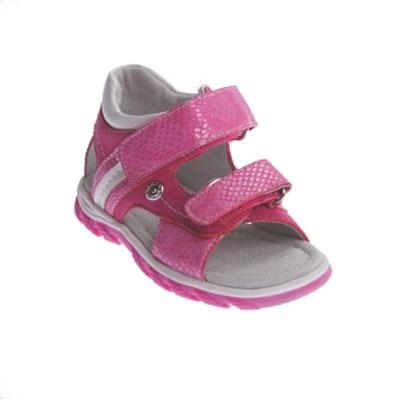 Сандалии для девочки . 168211168211Прелестные сандалии от PlayToday очаруют вашу малышку с первого взгляда! Модель, выполненная из искусственной кожи, оформлена декоративным тиснением и блестящим покрытием, сбоку - металлической заклепкой. Ремешки с застежками-липучками обеспечивают надежную фиксацию модели на ноге. Стелька из натуральной кожи дополнена супинатором с перфорацией, который отвечает за правильное положение ноги ребенка при ходьбе, предотвращает плоскостопие. Рифление на подошве обеспечивает идеальное сцепление с любой поверхностью. Стильные сандалии займут достойное место в гардеробе вашей девочки.