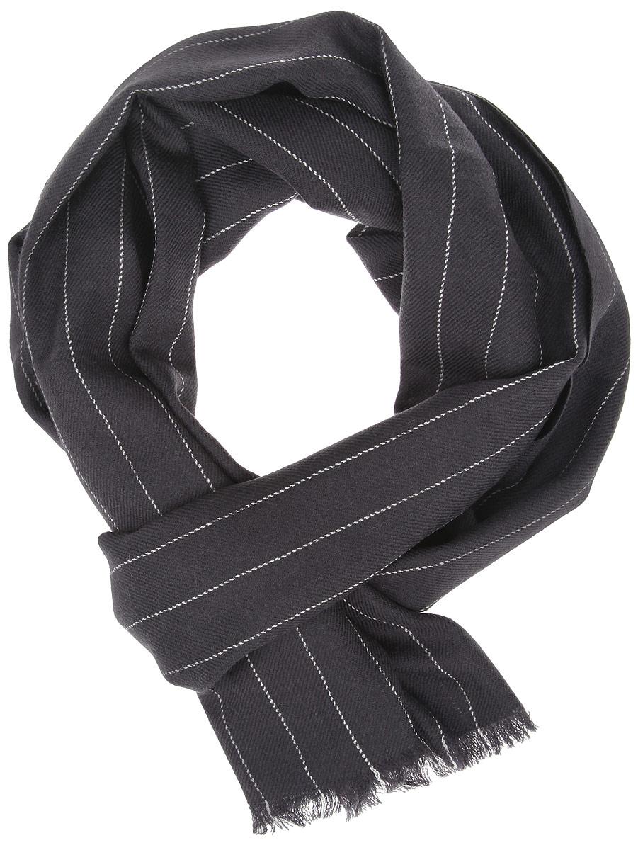 ШарфYQC0020-1Элегантный мужской шарф Leo Ventoni согреет вас в холодное время года, а также станет изысканным аксессуаром, который призван подчеркнуть ваш стиль и индивидуальность. Оригинальный шарф выполнен из высококачественной 100% шерсти, оформлен тонкими полосками и украшен тонкой бахромой по краям. Такой шарф станет превосходным дополнением к любому наряду, защитит вас от ветра и холода и позволит вам создать свой неповторимый стиль.