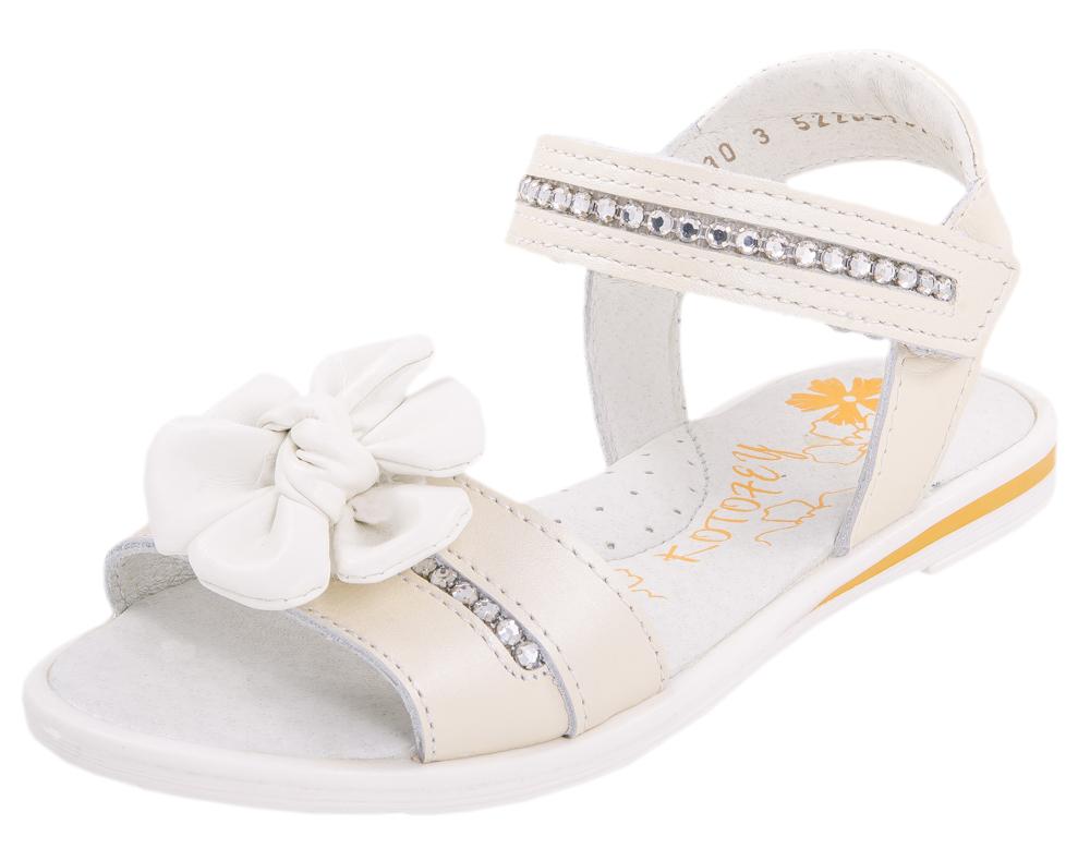 Сандалии для девочки. 522067-21522067-21Удобные, максимально открытые сандали для девочки выполнены из натуральной кожи.Потрясающая легкость, уравновешенная графика деталей, интересные цвета подаряю юным модницам истинно летние ощущения тепла, света и радости.