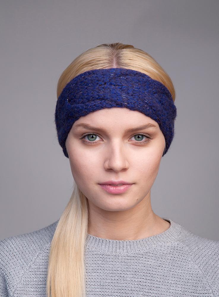 Повязка на голову женская Seyra3446821Вязаная повязка на голову Canoe Seyra с вывязанной косой из лёгкой и мягкой альпаки в смеси шерсти и акрила. Добавленный в ручную неаполитанский люрекс, создаёт утончённость и эксклюзивность изделию. Такая повязка станет модным и стильным дополнением вашего зимнего гардероба. Она согреет вас и позволит подчеркнуть свою индивидуальность!