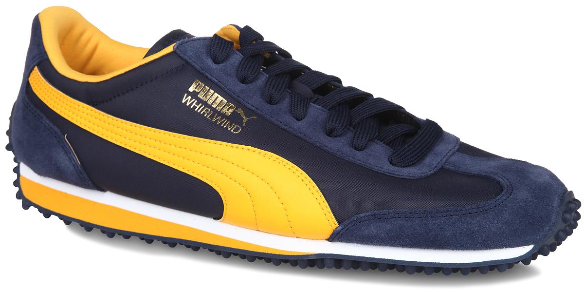 Кроссовки мужские Whirlwind Classic. 3512937035129368Стильные мужские кроссовки Whirlwind Classic от Puma - это легкость и свобода движения. Модель выполнена из натуральной кожи с вставками из текстиля. Подкладка выполнена из текстиля. Стелька из ЭВА с текстильной поверхностью обеспечивает дополнительную амортизацию. Функциональная шнуровка в сочетании с удобной колодкой обеспечивают идеальную фиксацию на ноге. Шипованная резиновая подошва обеспечивает максимальное сцепление с поверхностью. Удобные кроссовки - выбор истинных ценителей активного образа жизни. В таких оригинальных кроссовках вы всегда будете выглядеть стильно.