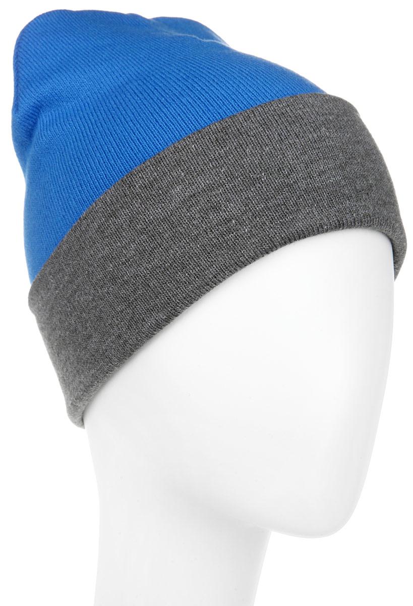 ШапкаRYH5724_001/085Удлиненная мужская шапка Elfrio отлично дополнит ваш образ в холодную погоду. Сочетание акрила и эластана максимально сохраняет тепло и обеспечивает удобную посадку, невероятную легкость и мягкость. Двухстороннюю двухцветную шапку можно носить как с отворотом, так и без. Стильная шапка Elfrio подчеркнет ваш неповторимый стиль и индивидуальность. Такая модель будет актуальна как на спортивных мероприятиях, так и в повседневной жизни. Уважаемые клиенты! Размер, доступный для заказа, является обхватом головы.