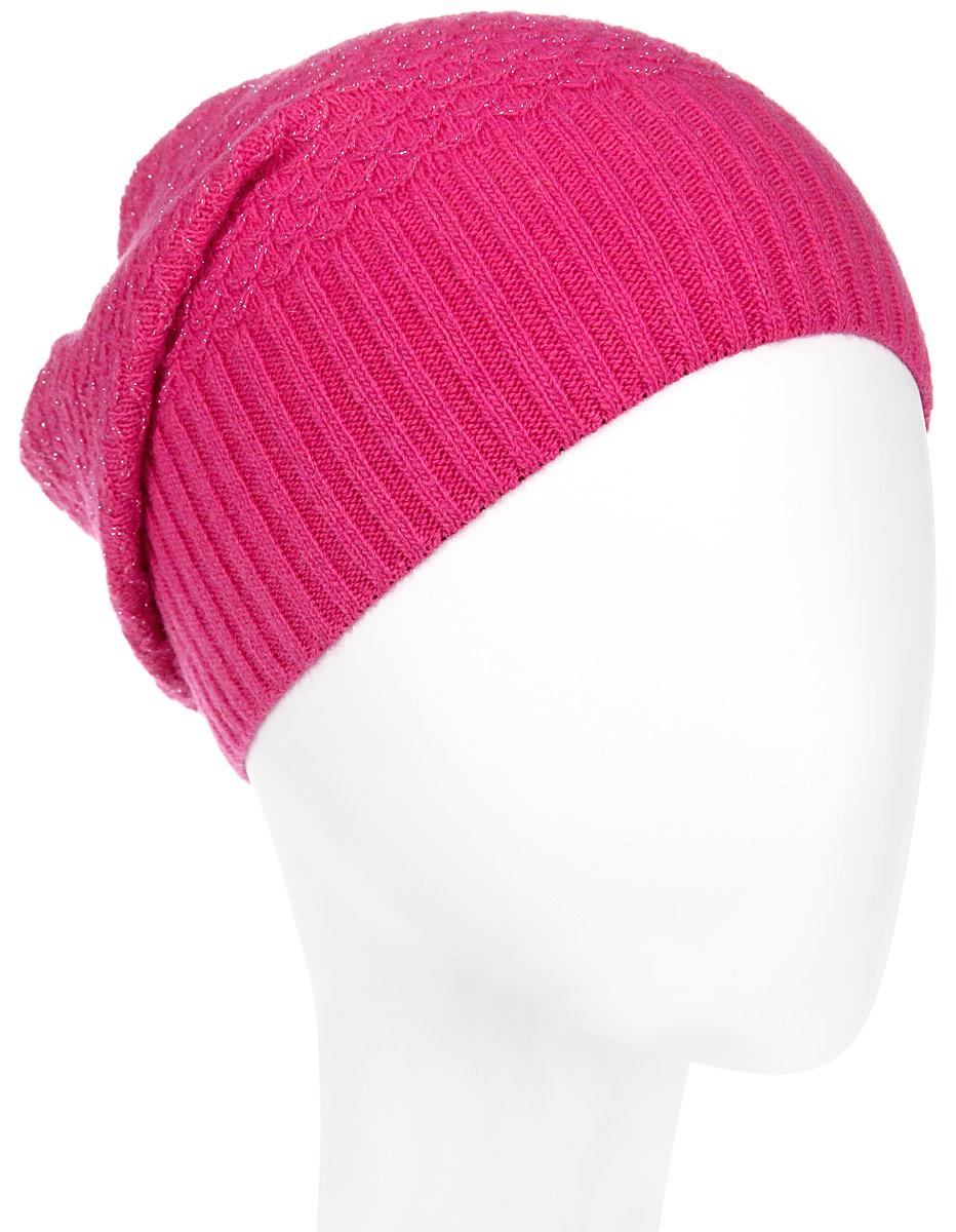 Шапка женская. MWH8MWH8_008Стильная женская шапка Marhatter отлично дополнит ваш образ в холодную погоду. Выполненная из пряжи с содержанием кашемира и шерсти мериноса, шапка максимально сохраняет тепло и обеспечивает удобную посадку, невероятную легкость и мягкость. Модная шапка Marhatter подчеркнет ваш неповторимый стиль и индивидуальность. Уважаемые клиенты! Размер, доступный для заказа, является обхватом головы.