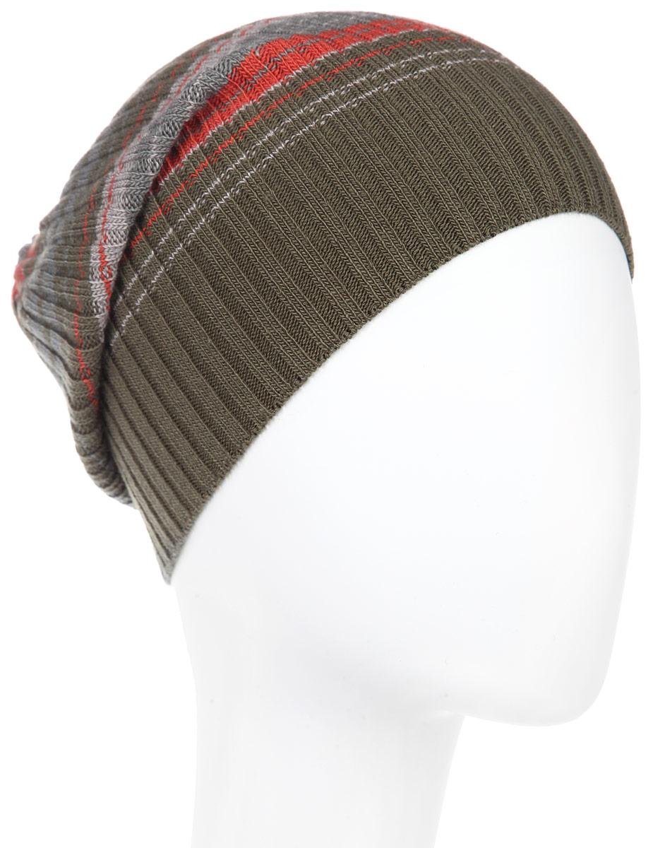 Шапка мужская. MMH5646MMH5646_108Стильная мужская шапка Marhatter отлично дополнит ваш образ в холодную погоду. Выполненная в оригинальной цветовой гамме из пряжи с содержанием шерсти и акрила, шапка максимально сохраняет тепло и обеспечивает удобную посадку, невероятную легкость и мягкость. Модель дополнена небольшим декоративным металлическим элементом с символикой бренда. Стильная шапка Marhatter подчеркнет ваш неповторимый стиль и индивидуальность. Уважаемые клиенты! Размер, доступный для заказа, является обхватом головы.