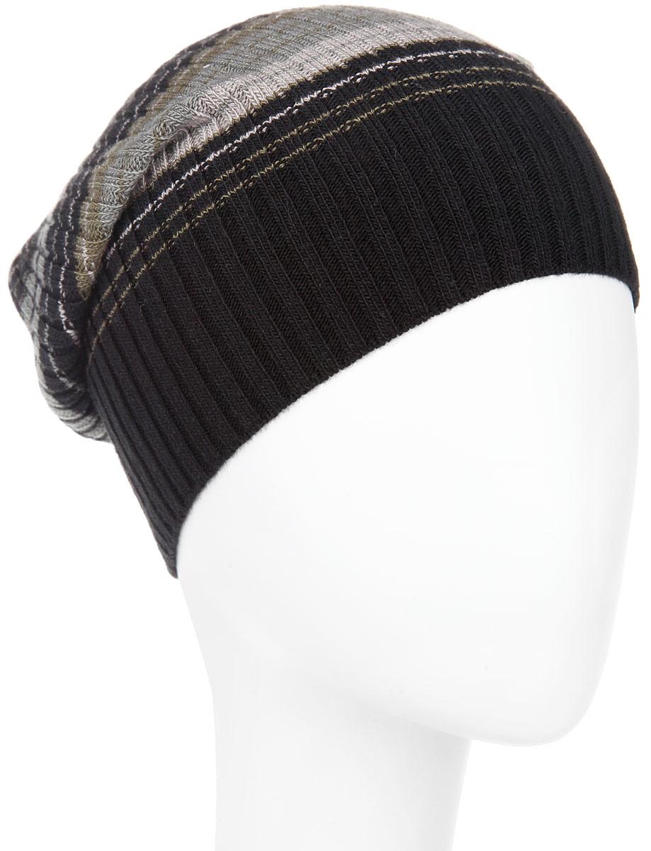 ШапкаMMH5646_108Стильная мужская шапка Marhatter отлично дополнит ваш образ в холодную погоду. Выполненная в оригинальной цветовой гамме из пряжи с содержанием шерсти и акрила, шапка максимально сохраняет тепло и обеспечивает удобную посадку, невероятную легкость и мягкость. Модель дополнена небольшим декоративным металлическим элементом с символикой бренда. Стильная шапка Marhatter подчеркнет ваш неповторимый стиль и индивидуальность. Уважаемые клиенты! Размер, доступный для заказа, является обхватом головы.