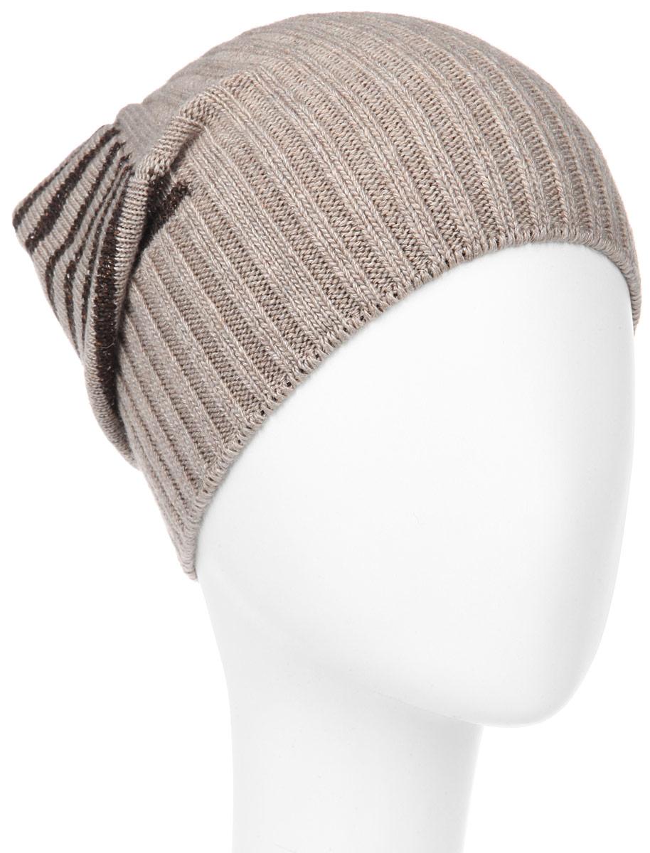 Шапка мужская. MMH5631MMH5631_005Стильная мужская шапка Marhatter отлично дополнит ваш образ в холодную погоду. Выполненная в оригинальной цветовой гамме из пряжи с содержанием кашемира и шерсти мериноса, шапка максимально сохраняет тепло и обеспечивает удобную посадку, невероятную легкость и мягкость. Модель оформлена вязанным принтом в полоску и дополнена небольшим металлическим декоративным элементом. Удлиненная шапка Marhatter подчеркнет ваш неповторимый стиль и индивидуальность. Уважаемые клиенты! Размер, доступный для заказа, является обхватом головы.