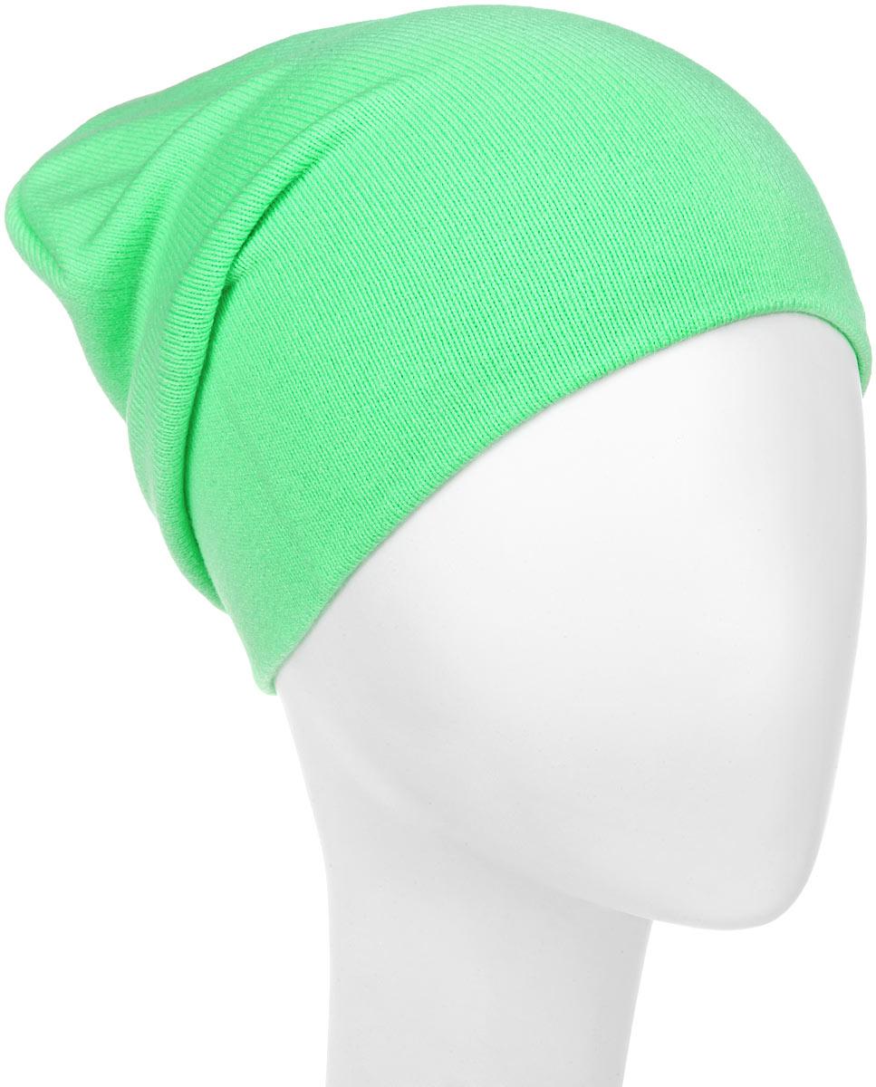 Шапка для девочки. RFH5713RFH5713_003Шапка для девочки Elfrio отлично подойдет для прогулок в прохладное время года. Изделие, изготовленное из акрила и эластана, максимально сохраняет тепло. Шапка плотно прилегает к голове ребенка, мягкая и приятная на ощупь. Удлиненная модель шапки идеально подходит для любого типа лица. Изделие дополнено небольшой жаккардовой нашивкой с названием бренда. Двухслойную шапку можно носить как с отворотом, так и без. Такая модель будет актуальна как на спортивных мероприятиях, так и в повседневной жизни. Современный дизайн и расцветка делают эту шапку модным и стильным предметом детского гардероба. В ней ребенку будет тепло, уютно и комфортно. Уважаемые клиенты! Размер, доступный для заказа, является обхватом головы.