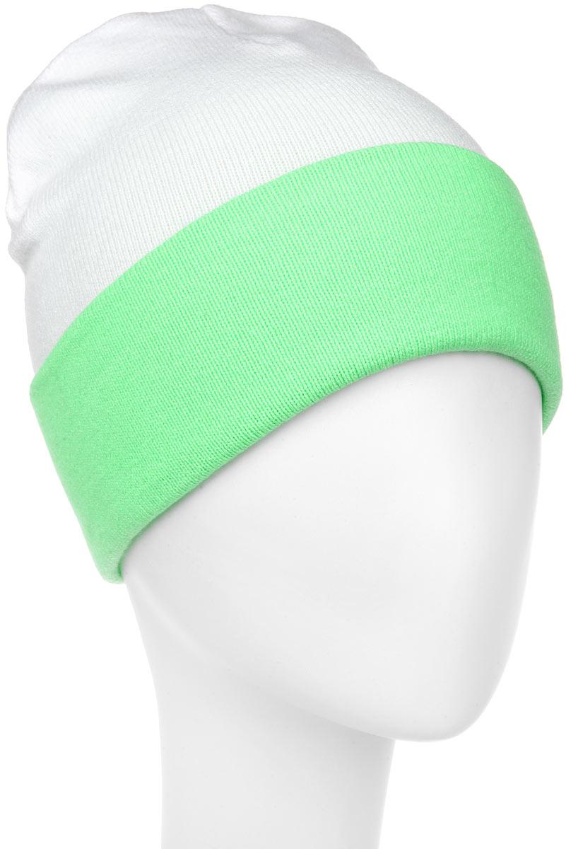 ШапкаRLH5723_003/114Удлиненная женская шапка Elfrio отлично дополнит ваш образ в холодную погоду. Сочетание акрила и эластана максимально сохраняет тепло и обеспечивает удобную посадку, невероятную легкость и мягкость. Двухстороннюю двухцветную шапку можно носить как с отворотом, так и без. Стильная шапка Elfrio подчеркнет ваш неповторимый стиль и индивидуальность. Такая модель будет актуальна как на спортивных мероприятиях, так и в повседневной жизни. Уважаемые клиенты! Размер, доступный для заказа, является обхватом головы.