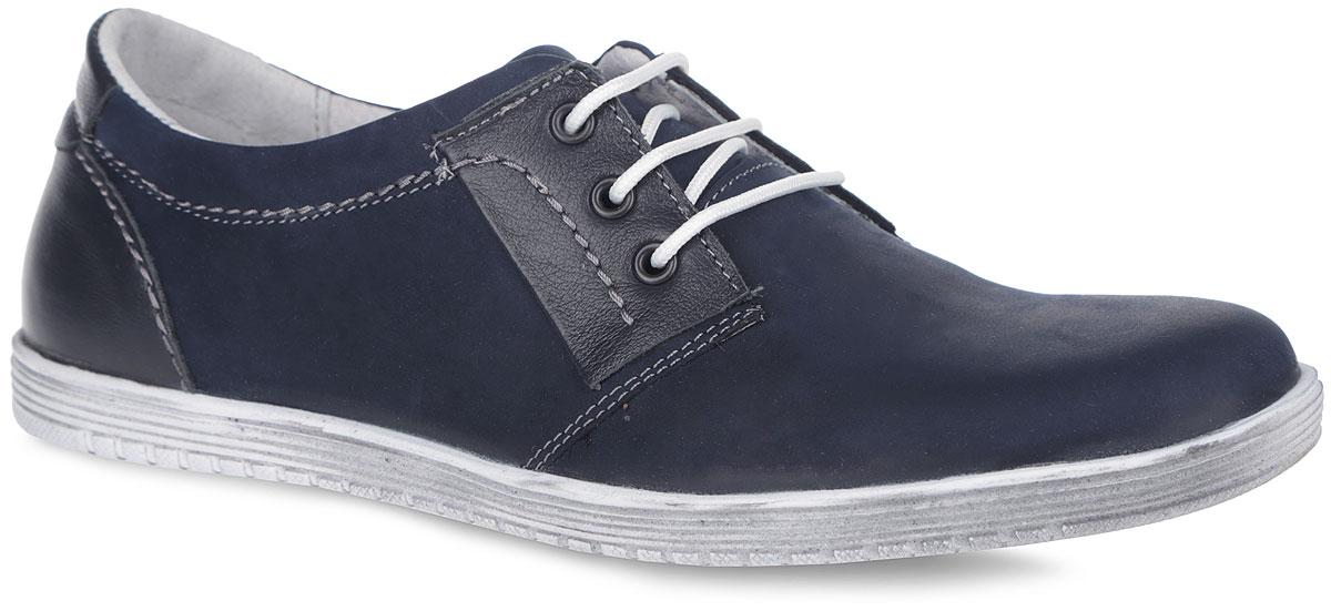 Полуботинки для мальчика. 10247-510247-5Стильные и невероятно удобные полуботинки от Зебра займут достойное место среди коллекции обуви вашего мальчика. Модель выполнена из комбинации натурального нубука и кожи. Подъем оформлен шнуровкой, которая надежно зафиксирует обувь на вашей ноге. Подкладка и стелька со сводоподдерживающим элементом, изготовленные из натуральной кожи, обеспечат ногам комфорт и уют. Подошва из полимерного термопластичного материала оснащена рифлением для лучшей сцепки с поверхностью. Трендовые полуботинки придутся по душе вашему мальчику.