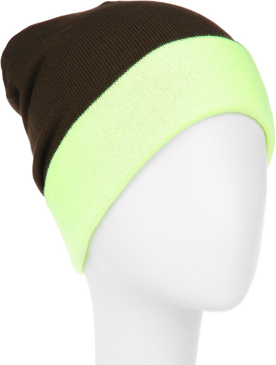 Шапка мужская. RYH5724RYH5724_001/085Удлиненная мужская шапка Elfrio отлично дополнит ваш образ в холодную погоду. Сочетание акрила и эластана максимально сохраняет тепло и обеспечивает удобную посадку, невероятную легкость и мягкость. Двухстороннюю двухцветную шапку можно носить как с отворотом, так и без. Стильная шапка Elfrio подчеркнет ваш неповторимый стиль и индивидуальность. Такая модель будет актуальна как на спортивных мероприятиях, так и в повседневной жизни. Уважаемые клиенты! Размер, доступный для заказа, является обхватом головы.