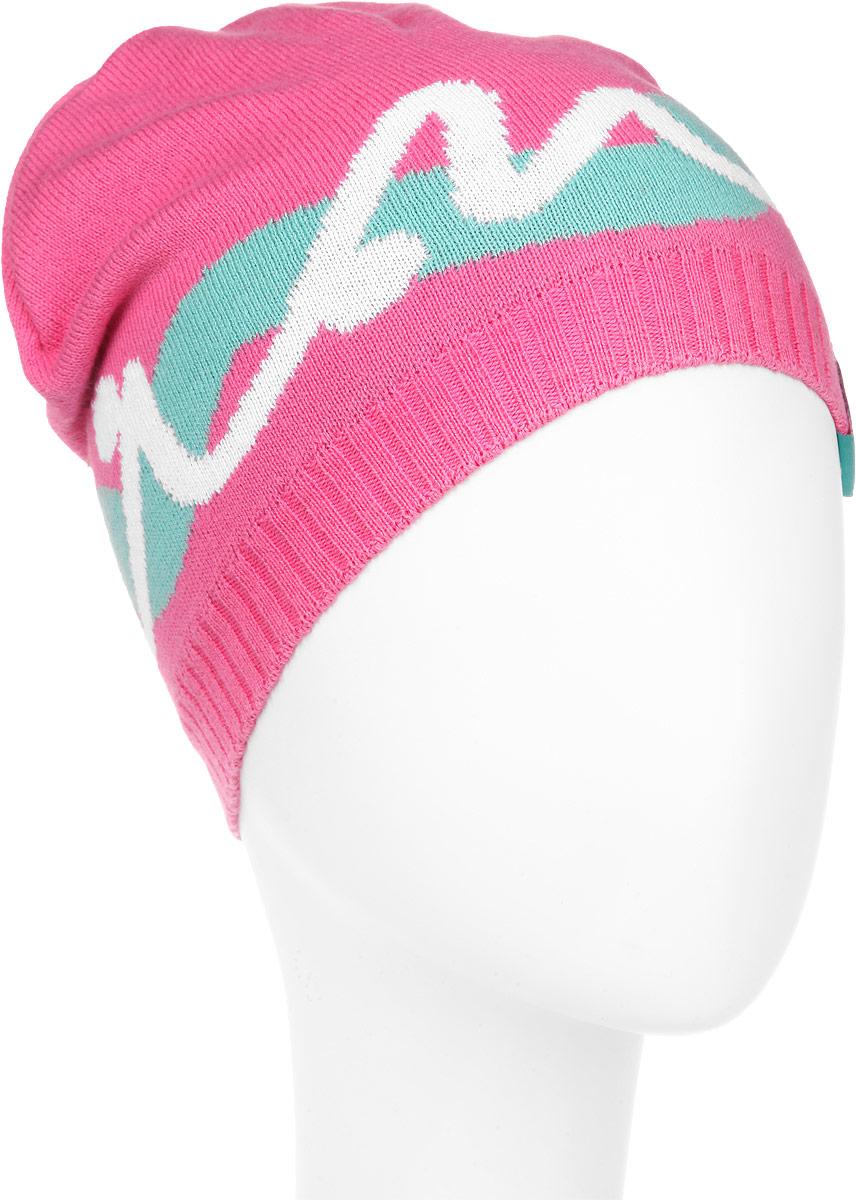 ШапкаMFH5597_077Стильная шапка Marhatter станет отличным дополнением к детскому гардеробу. Выполненная из натурального хлопка, шапка максимально сохраняет тепло и обеспечивает удобную посадку, невероятную легкость и мягкость. Модель оформлена оригинальным вязаным принтом и текстильной нашивкой с надписью бренда. Модная шапка Marhatter подчеркнет неповторимый стиль и индивидуальность своей обладательницы. Уважаемые клиенты! Размер, доступный для заказа, является обхватом головы.