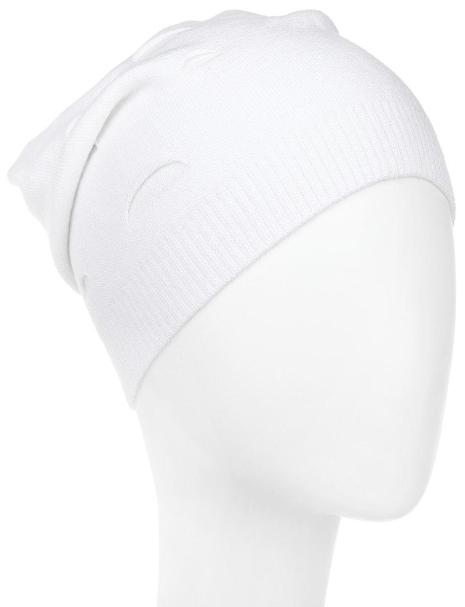 Шапка женская. MWH3MWH3_003Стильная женская шапка Marhatter отлично дополнит ваш образ в холодную погоду. Выполненная из шерсти и акрила с подкладкой из полиэстера, шапка максимально сохраняет тепло и обеспечивает удобную посадку, невероятную легкость и мягкость. Шапка дополнена небольшими декоративными надрезами и металлическим элементом в виде зайки. Модная шапка Marhatter подчеркнет ваш неповторимый стиль и индивидуальность. Уважаемые клиенты! Размер, доступный для заказа, является обхватом головы.