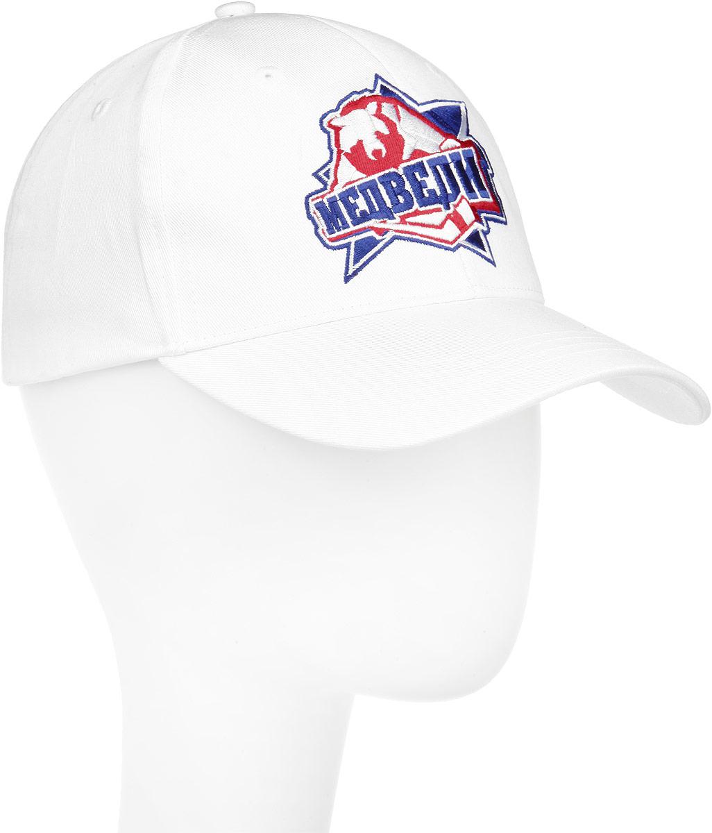Бейсболка Медведи. CRUS014CRUS014-AСтильная бейсболка Robin Ruth с эмблемой хоккейной команды Медведи из сериала Молодёжка будет приятным подарком вам и вашим близким. Будь с Медведями! И ты в игре! Бейсболка выполнена из натурального хлопка, имеет конструкцию из шести панелей и специальные вентиляционные отверстия для лучшей воздухопроницаемости. Бейсболка надежно защитит вас от солнца и ветра. Бейсболка оформлена вышитой эмблемой Медведи. Закругленный козырек бейсболки украшен строчками в тон бейсболки. Объем бейсболки регулируется при помощи хлястика с липучкой для удобной плотной посадки. Такая бейсболка станет отличным аксессуаром и дополнит ваш повседневный образ.
