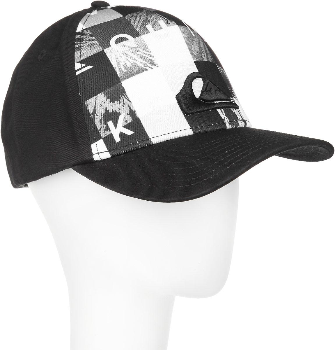 Бейсболка мужская Pintails M HATS. AQYHA03267AQYHA03267-BMJ1Стильная мужская бейсболка Quiksilver Pintails M HATS будет дополнять ваш образ в ваших повседневных делах. Также будет отличным подарком и сувениром для ваших близких и знакомых. Бейсболка выполнена из полиэстера, имеет классическую панельную конструкцию. Бейсболка имеет перфорацию, обеспечивающую дополнительную вентиляцию. Бейсболка надежно защитит вас от солнца и ветра. Модель декорирована вставкой и объемной вышивкой. Козырек дополнен строчками. Объем бейсболки регулируется при помощи пластиковых кнопок для удобной плотной посадки. Такая бейсболка станет отличным аксессуаром и дополнит ваш повседневный образ.