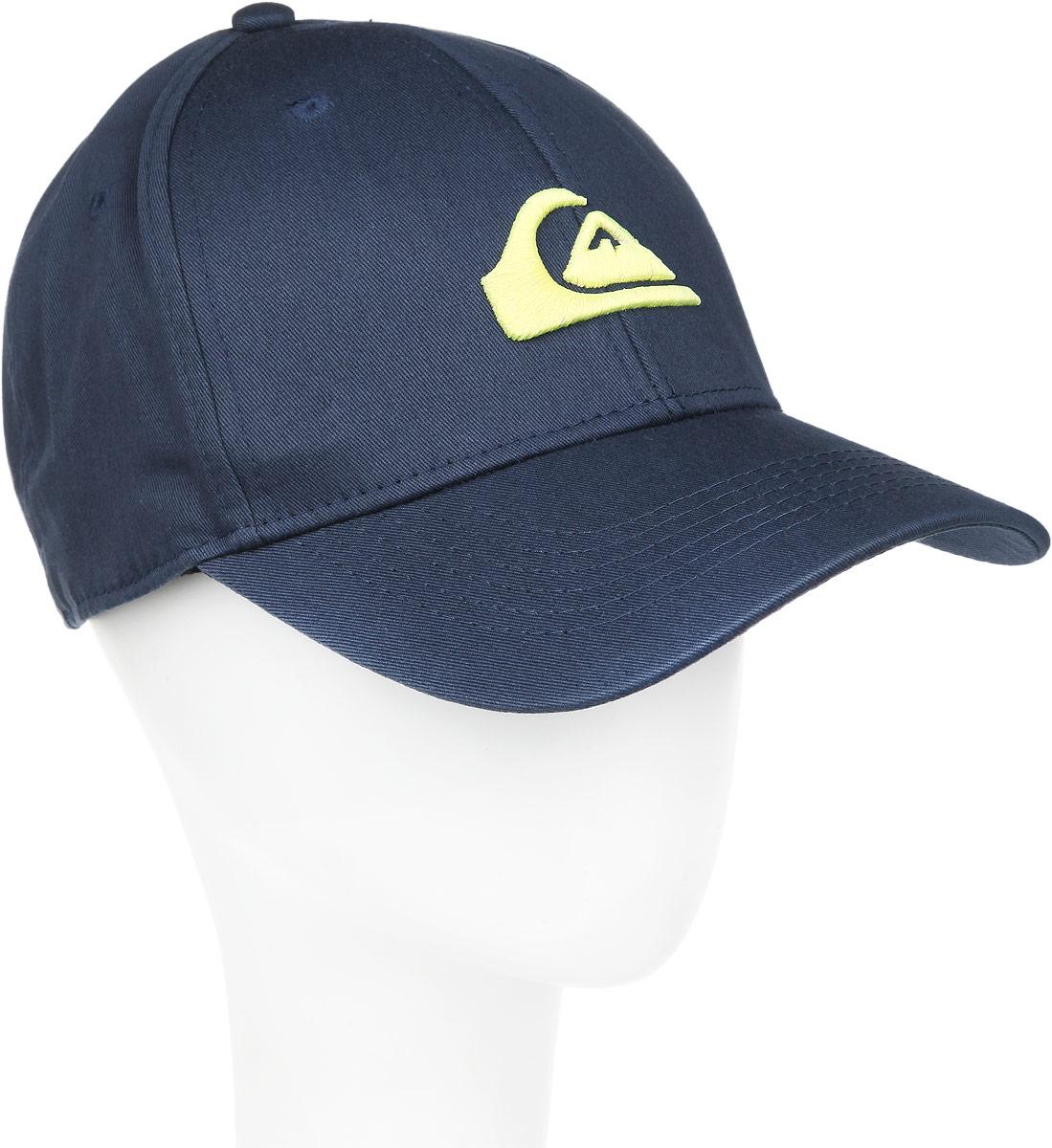 Бейсболка мужская Decades M. AQYHA03387AQYHA03387-BMJ0Классическая мужская бейсболка Quiksilver Decades M, изготовленная из полиэстера с добавлением хлопка, идеально подойдет для активного отдыха и обеспечит надежную защиту головы от солнца. Бейсболка имеет перфорацию, обеспечивающую дополнительную вентиляцию. Бейсболка декорирована вышивкой в виде логотипа производителя. Объем изделия регулируется благодаря двумя пластиковым хлястикам с кнопками и перфорацией. Такая бейсболка станет отличным аксессуаром для занятий спортом или дополнит ваш повседневный образ.