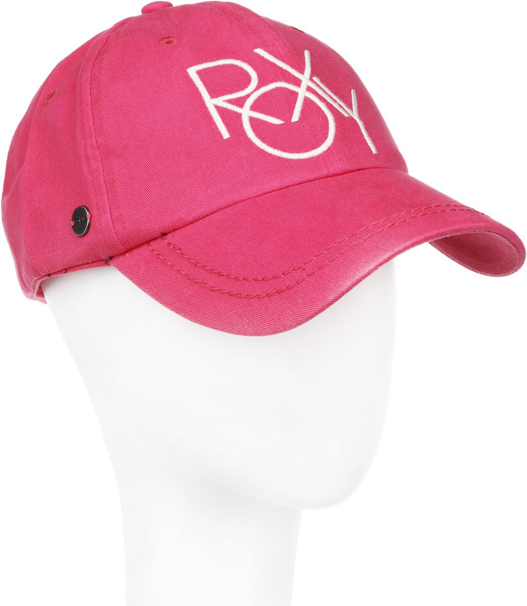 Бейсболка женская Extra. ERJHA03033ERJHA03033-MMN0Стильная женская бейсболка Roxy Extra будет дополнять ваш образ в ваших повседневных делах. Также будет отличным подарком и сувениром для ваших близких и знакомых. Бейсболка выполнена из натурального хлопка, имеет конструкцию из шести панелей. Бейсболка оформлена вышитым логотипом бренда спереди. Закругленный козырек бейсболки украшен двумя строчками в тон бейсболки. Объем бейсболки регулируется при помощи хлястика с липучкой для удобной плотной посадки. Такая бейсболка станет отличным аксессуаром и дополнит ваш повседневный образ.