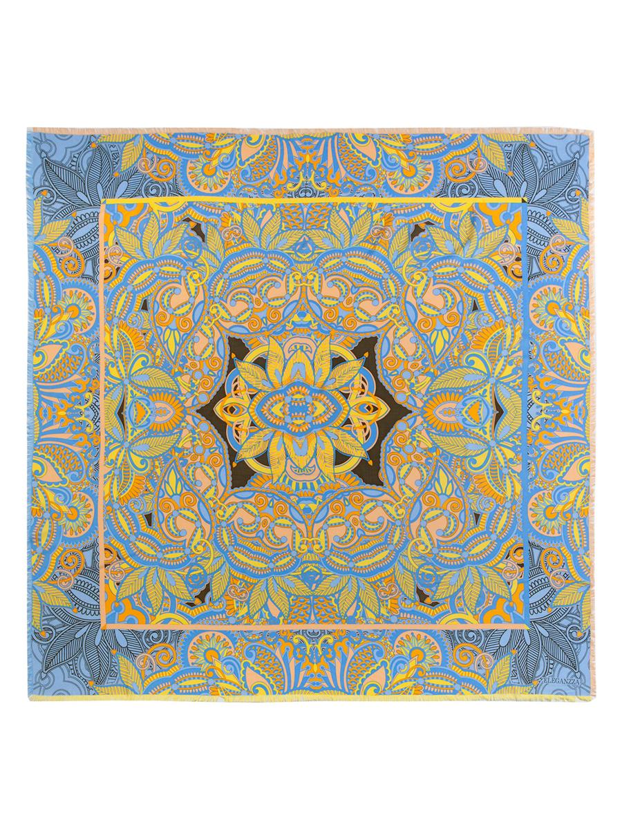 Платок женский. D34-1191D34-1191Стильный женский платок Eleganzza станет великолепным завершением любого наряда. Платок изготовлен из шелка и вискозы, оформлен оригинальным орнаментом и по кроям дополнен бахромой. Такой платок превосходно дополнит любой наряд и подчеркнет ваш неповторимый вкус и элегантность.