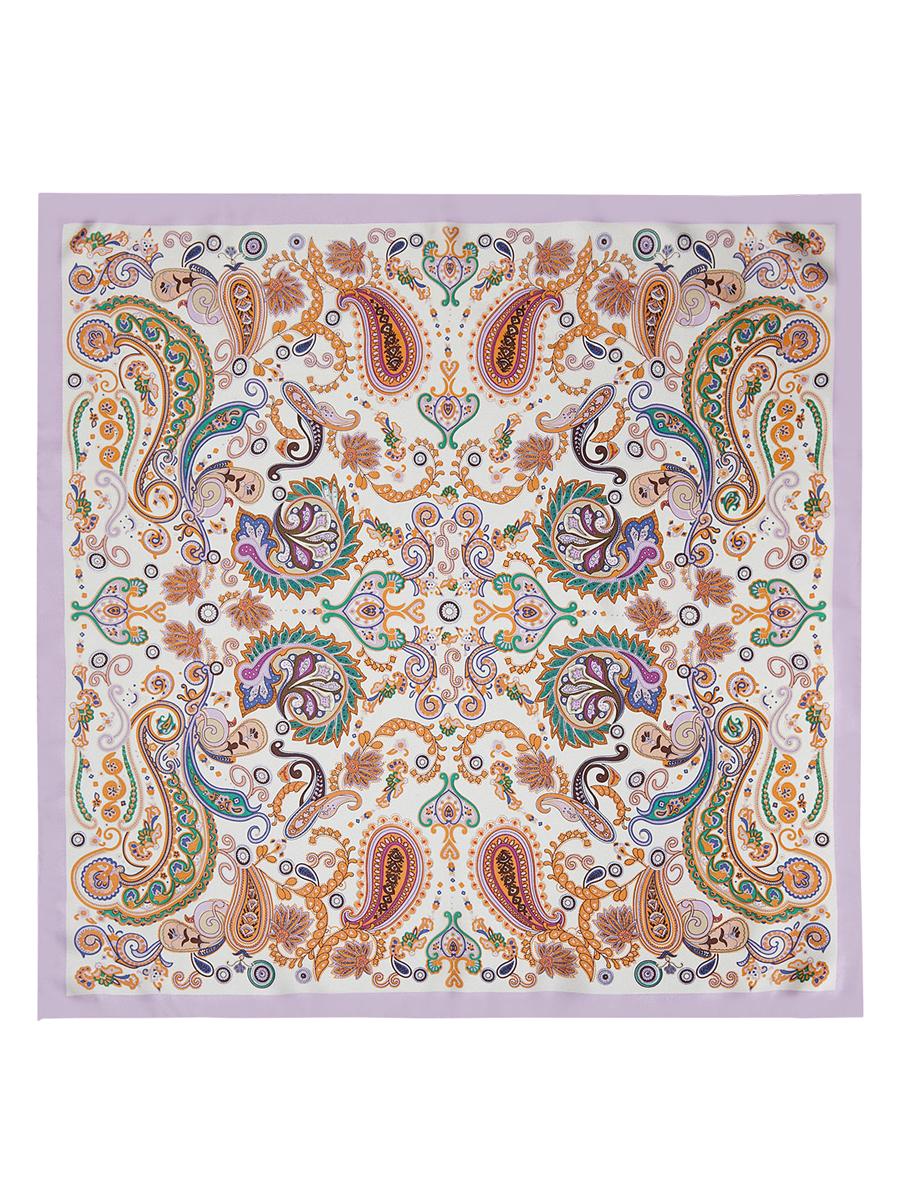 Платок женский. E04-7103E04-7103Стильный женский платок Eleganzza станет великолепным завершением любого наряда. Платок изготовлен из высококачественного шелка и оформлен оригинальным орнаментом. Классическая квадратная форма позволяет носить платок на шее, украшать им прическу или декорировать сумочку. Такой платок превосходно дополнит любой наряд и подчеркнет ваш неповторимый вкус и элегантность.