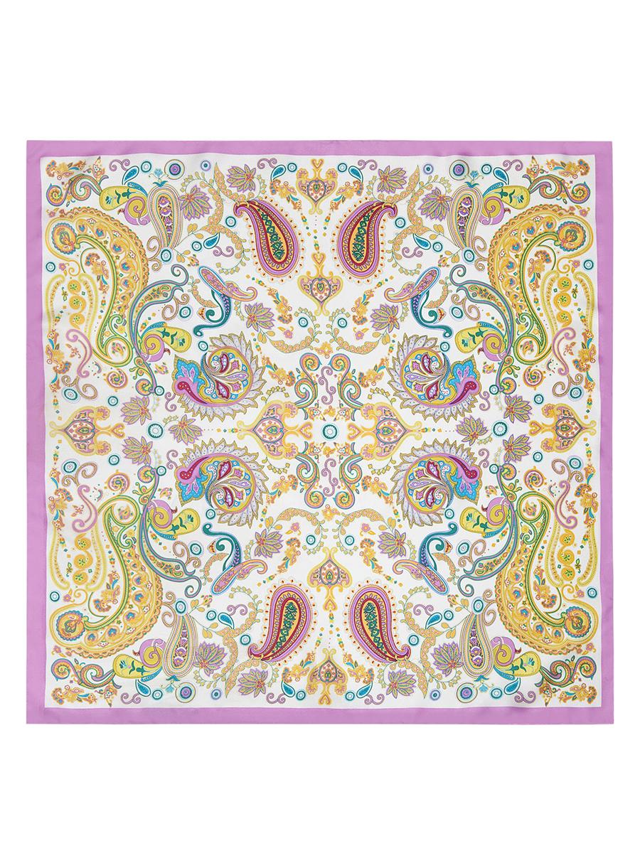 ПлатокE04-7103Стильный женский платок Eleganzza станет великолепным завершением любого наряда. Платок изготовлен из высококачественного шелка и оформлен оригинальным орнаментом. Классическая квадратная форма позволяет носить платок на шее, украшать им прическу или декорировать сумочку. Такой платок превосходно дополнит любой наряд и подчеркнет ваш неповторимый вкус и элегантность.