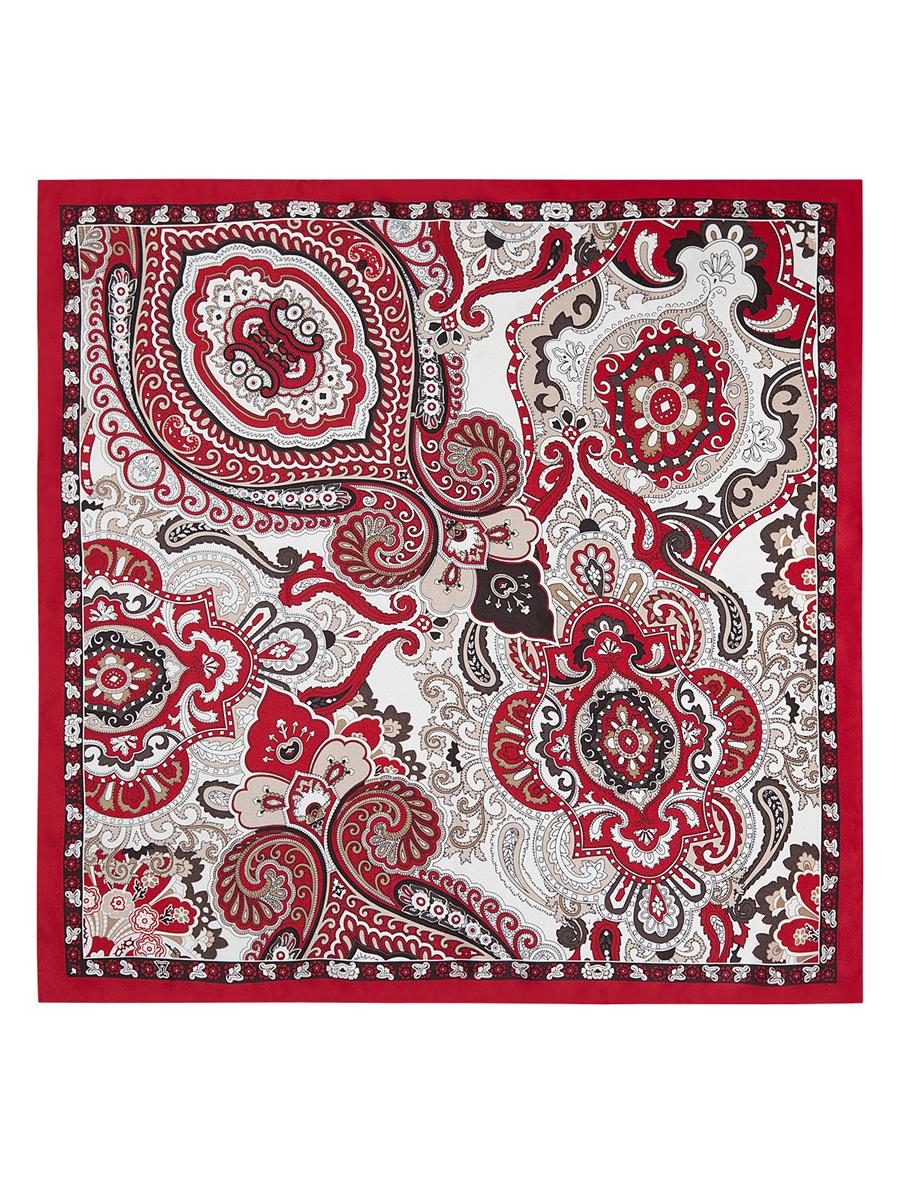 ПлатокE04-7107Стильный женский платок Eleganzza станет великолепным завершением любого наряда. Платок изготовлен из высококачественного шелка и оформлен оригинальным орнаментом. Классическая квадратная форма позволяет носить платок на шее, украшать им прическу или декорировать сумочку. Такой платок превосходно дополнит любой наряд и подчеркнет ваш неповторимый вкус и элегантность.
