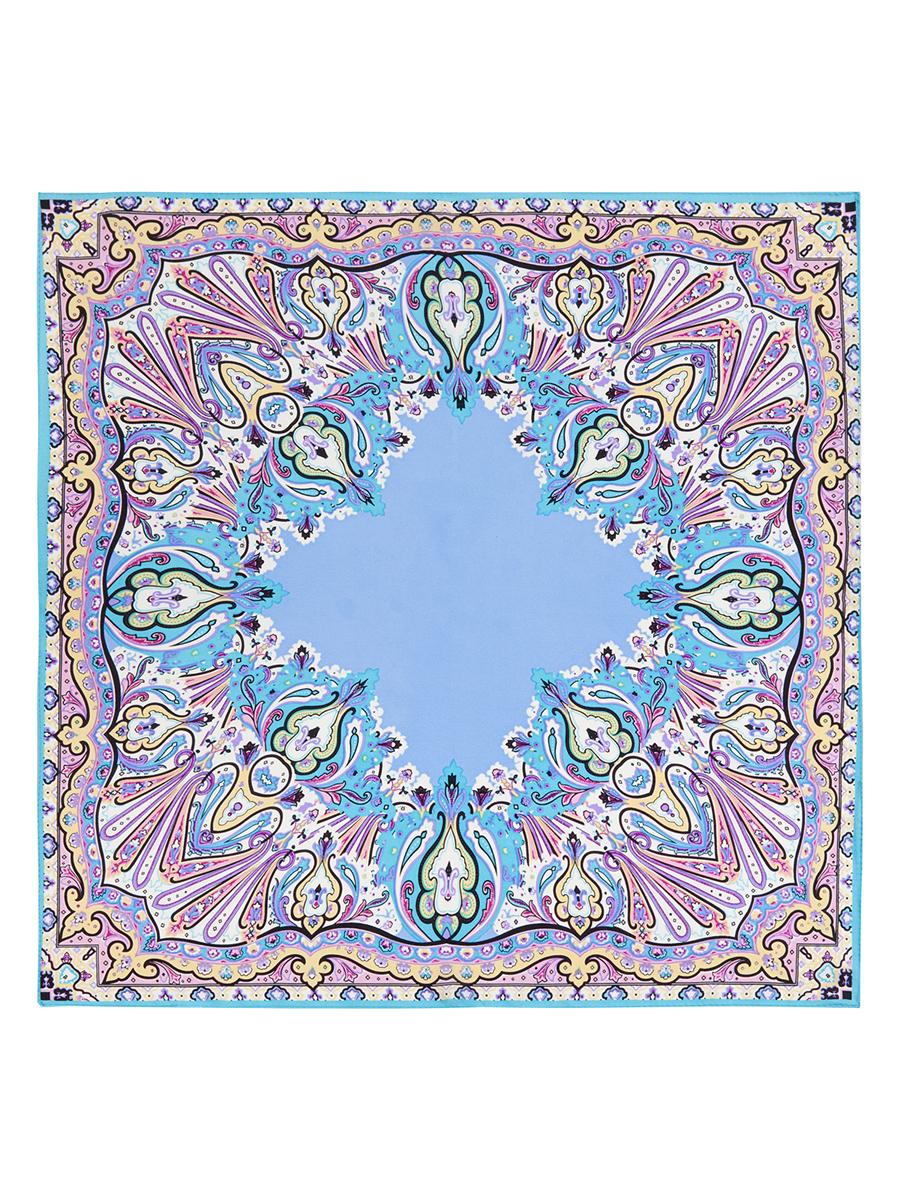 Платок женский. SS03-7658SS03-7658Стильный женский платок Eleganzza станет великолепным завершением любого наряда. Платок изготовлен из высококачественного шелка и оформлен оригинальным орнаментом. Классическая квадратная форма позволяет носить платок на шее, украшать им прическу или декорировать сумочку. Такой платок превосходно дополнит любой наряд и подчеркнет ваш неповторимый вкус и элегантность.