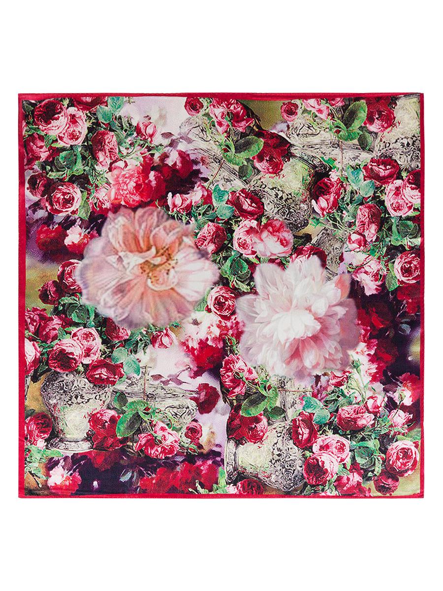 Платок женский. SS03-7781SS03-7781Стильный женский платок Eleganzza станет великолепным завершением любого наряда. Платок изготовлен из высококачественного шелка и оформлен оригинальным цветочным принтом. Классическая квадратная форма позволяет носить платок на шее, украшать им прическу или декорировать сумочку. Такой платок превосходно дополнит любой наряд и подчеркнет ваш неповторимый вкус и элегантность.