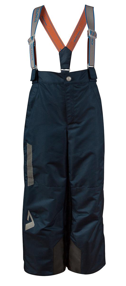Брюки для мальчика Арно. 16/OA-3PT41516/OA-3PT415-1Удобные и функциональные брюки для мальчика Oldos Active Арно идеально подойдут в прохладное время года. Брюки, изготовленные из водоотталкивающей и ветрозащитной ткани. Внешнее покрытие Teflon отталкивает грязь и воду, продлевает срок службы изделия, а нанесенная с изнаночной стороны ткани мембрана 3000/3000 позволяет дышать - отводит излишнюю влагу наружу, поддерживая комфортную для тела ребенка атмосферу. Приятная к телу подкладка из трикотажа до колена и с полиэстером ниже колена. Легкие и не стесняющие движения брюки рассчитаны на температуру воздуха от 0°С до +15°С. Удобные и функциональные брюки прямого покроя застегиваются на кнопку и застежку-молнию. Сзади на поясе предусмотрена широкая резинка. Съемные эластичные наплечные лямки регулируются по длине и крепятся к поясу. Спереди находятся два втачных кармашка на застежках-молниях. Брюки дополнены ветрозащитными муфтами с антискользящей резинкой. С внутренней стороны понизу изделия расположены вставки из плотного...