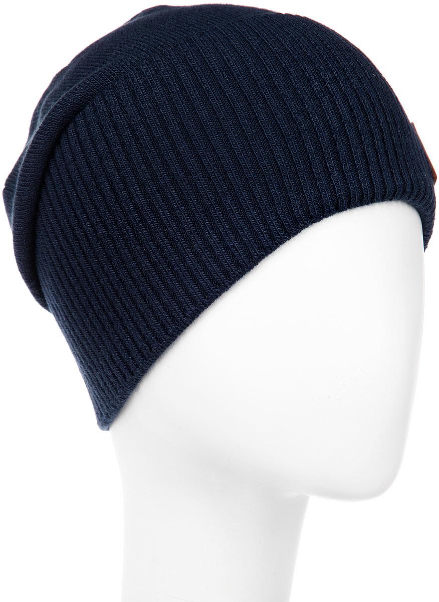 ШапкаMMH9_006Стильная мужская шапка Marhatter отлично дополнит ваш образ в холодную погоду. Модель обладает модным дизайном, который будет актуальным как на спортивных мероприятиях, так и в повседневной жизни. Сочетание шерсти и акрила максимально сохраняет тепло и обеспечивает удобную посадку, невероятную легкость и мягкость. Модель оформлена отворотом и декорирована кожаной нашивкой с металлическим бейджем. Стильная шапка Marhatter подчеркнет ваш неповторимый стиль и индивидуальность. Уважаемые клиенты! Размер, доступный для заказа, является обхватом головы.