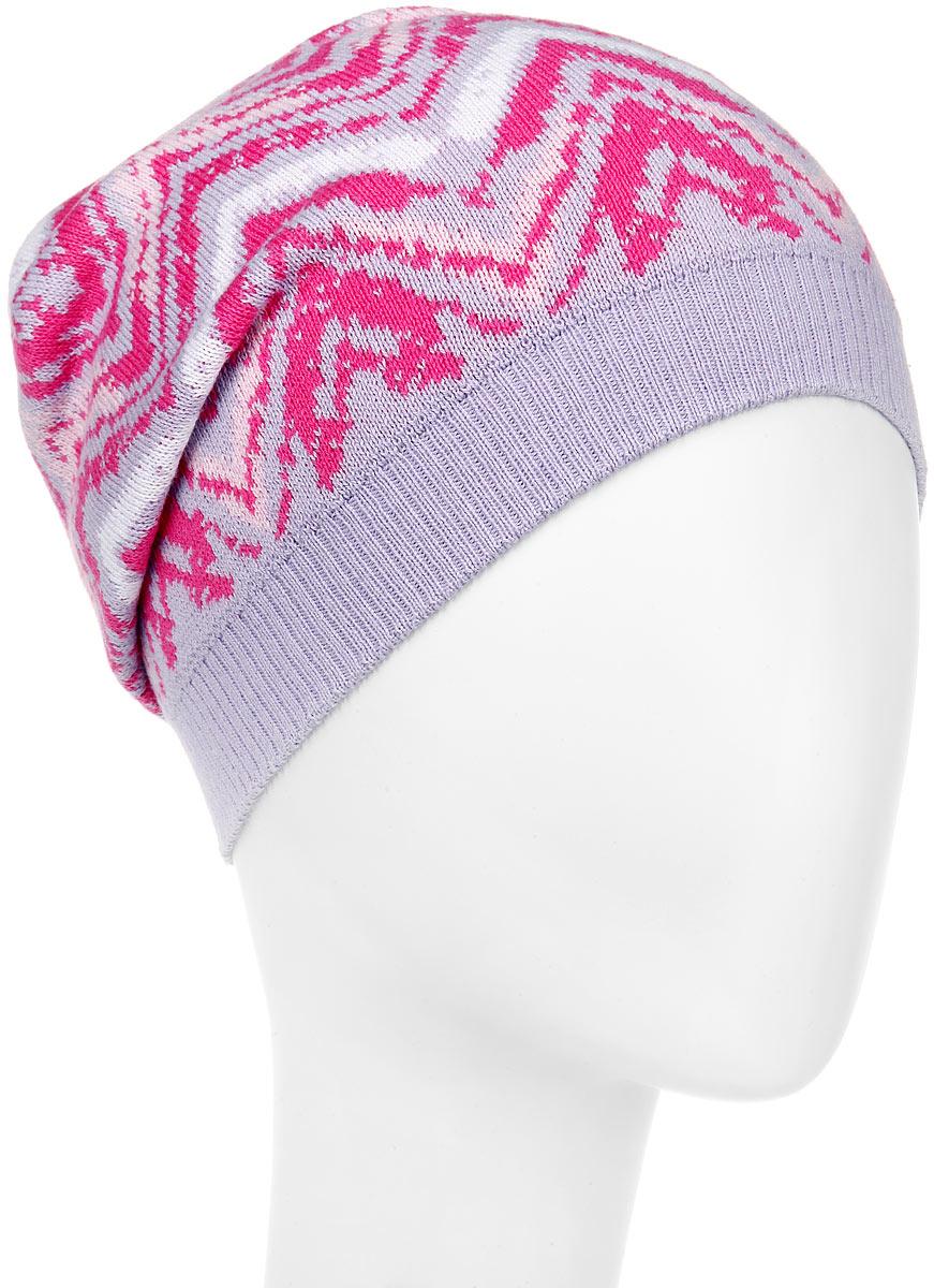 Шапка для девочки. MFH5572MFH5572_114Очаровательная шапка для девочки Marhatter станет отличным дополнением к гардеробу. Выполненная из натурального хлопка, шапка максимально сохраняет тепло и обеспечивает удобную посадку, невероятную легкость и мягкость. Модель оформлена оригинальным вязаным принтом и дополнена небольшим металлическим декоративным элементом в виде замочка. Модная шапка Marhatter подчеркнет неповторимый стиль и индивидуальность своей обладательницы. Уважаемые клиенты! Размер, доступный для заказа, является обхватом головы.