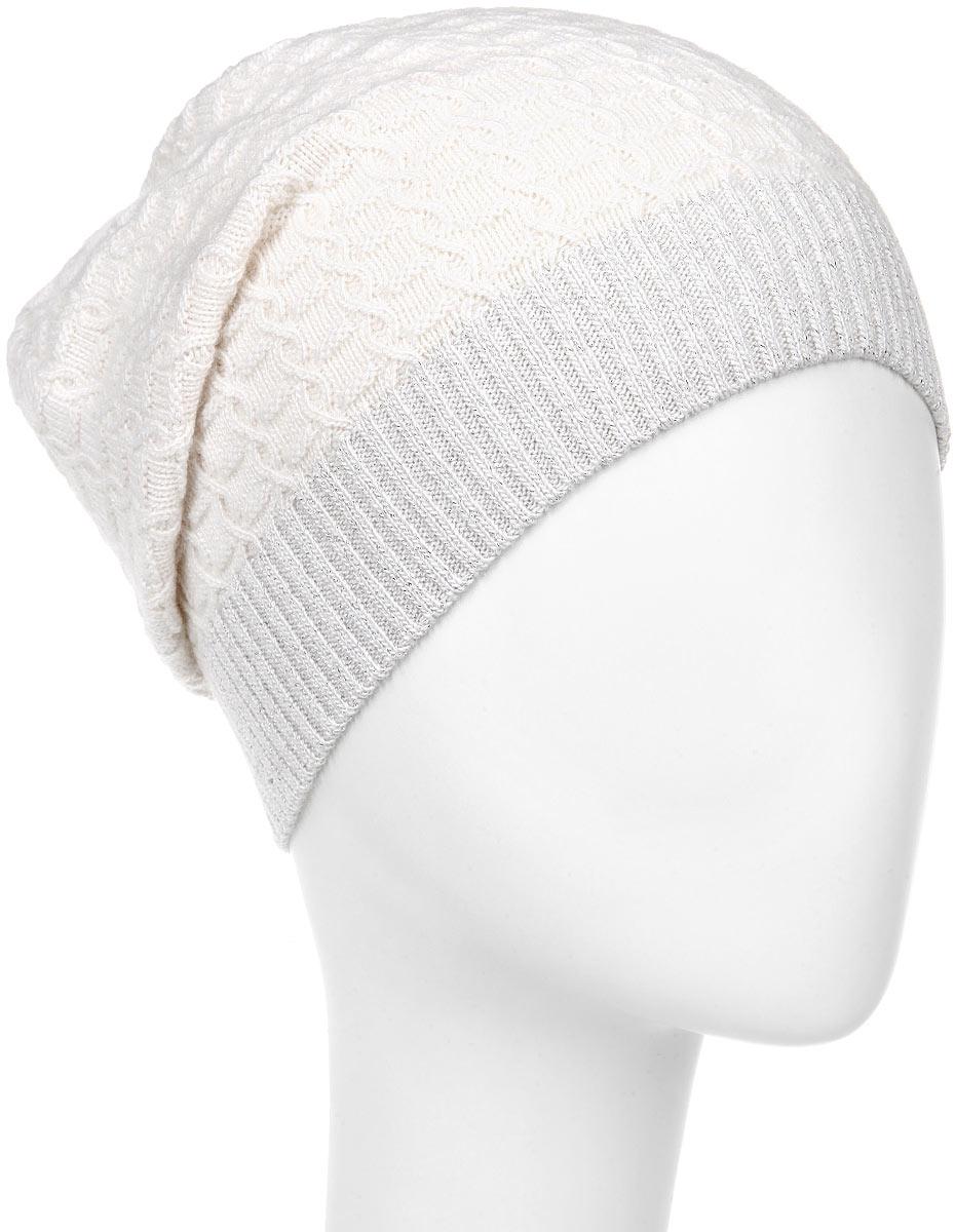 ШапкаMWH5_008Удлиненная женская шапка Marhatter отлично дополнит ваш образ в холодную погоду. Выполненная из пряжи с содержанием кашемира и шерсти мериноса, шапка максимально сохраняет тепло и обеспечивает удобную посадку, невероятную легкость и мягкость. Модная шапка Marhatter подчеркнет ваш неповторимый стиль и индивидуальность. Уважаемые клиенты! Размер, доступный для заказа, является обхватом головы.