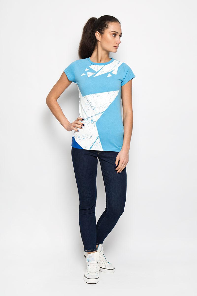 ФутболкаMV004-WHITEСтильная женская футболка Robin Ruth, выполненная из натурального хлопка, необычайно мягкая и приятная на ощупь, не сковывает движения и позволяет коже дышать, обеспечивая комфорт. Модель с круглым вырезом горловины и короткими рукавами оформлена ярким принтом и надписью Молодежка на спинке. Вырез горловины дополнен трикотажной резинкой, что предотвращает деформацию при носке. Футболка Robin Ruth станет отличным дополнением к вашему гардеробу.