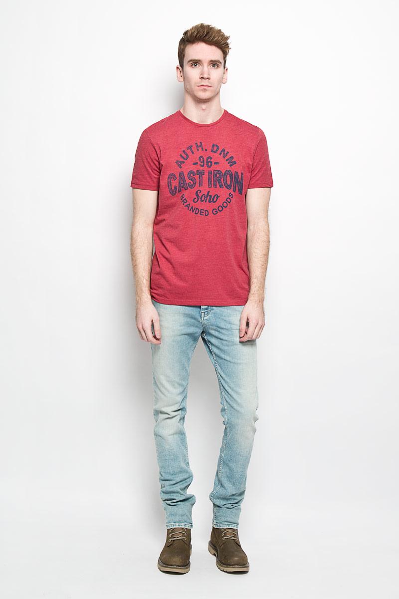 ФутболкаSPO2694CEОригинальная мужская футболка Top Secret Casual Denim выполнена в современном городском стиле. Модель, изготовленная из высококачественного мягкого материала, не сковывает движения и позволяет коже дышать, обеспечивая наибольший комфорт. Футболка прямого кроя с круглым вырезом горловины оформлена ярким принтом. Идеальный вариант для тех, кто ценит комфорт и качество.