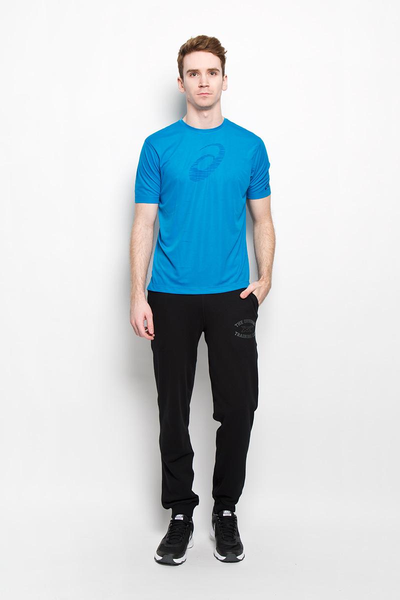 Футболка для бега мужская SS Graphic Top121652-0823Стильная мужская футболка для фитнеса Asics SS Graphic Top, выполненная из полиэстера, обладает высокой теплопроводностью, воздухопроницаемостью и гигроскопичностью и великолепно отводит влагу, оставляя тело сухим даже во время интенсивных тренировок. Оригинальный крой с плоскими швами исключает риск натирания. Такая футболка превосходно подойдет для занятий спортом и активного отдыха. Модель с короткими рукавами и круглым вырезом горловины - идеальный вариант для создания образа в спортивном стиле. Футболка оформлена логотипом производителя спереди и небольшим светоотражающим принтом на спинке. Такая модель подарит вам комфорт в течение всего дня и послужит замечательным дополнением к вашему гардеробу.