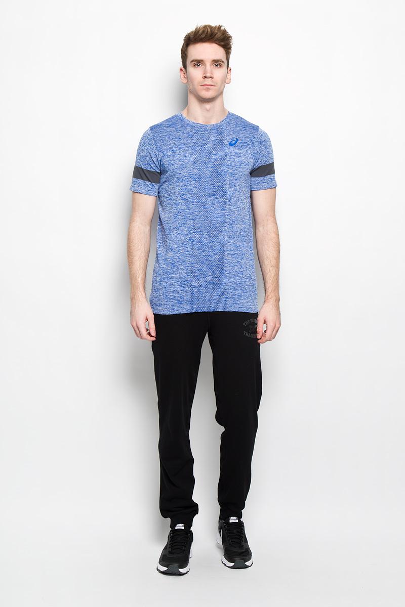 Футболка130449-8107Стильная мужская футболка для фитнеса Asics SS Top Seamless, выполненная из полиамида с добавлением полиэстера, обладает высокой теплопроводностью, воздухопроницаемостью и гигроскопичностью и великолепно отводит влагу, оставляя тело сухим даже во время интенсивных тренировок. Оригинальный бесшовный крой исключает риск натирания. Такая футболка превосходно подойдет для занятий спортом и активного отдыха. Модель с короткими рукавами и круглым вырезом горловины - идеальный вариант для создания образа в спортивном стилеl. Футболка дополнена специальной перфорацией спереди и на спинке, которая обеспечивает наилучшую циркуляцию воздуха. Такая модель подарит вам комфорт в течение всего дня и послужит замечательным дополнением к вашему гардеробу.