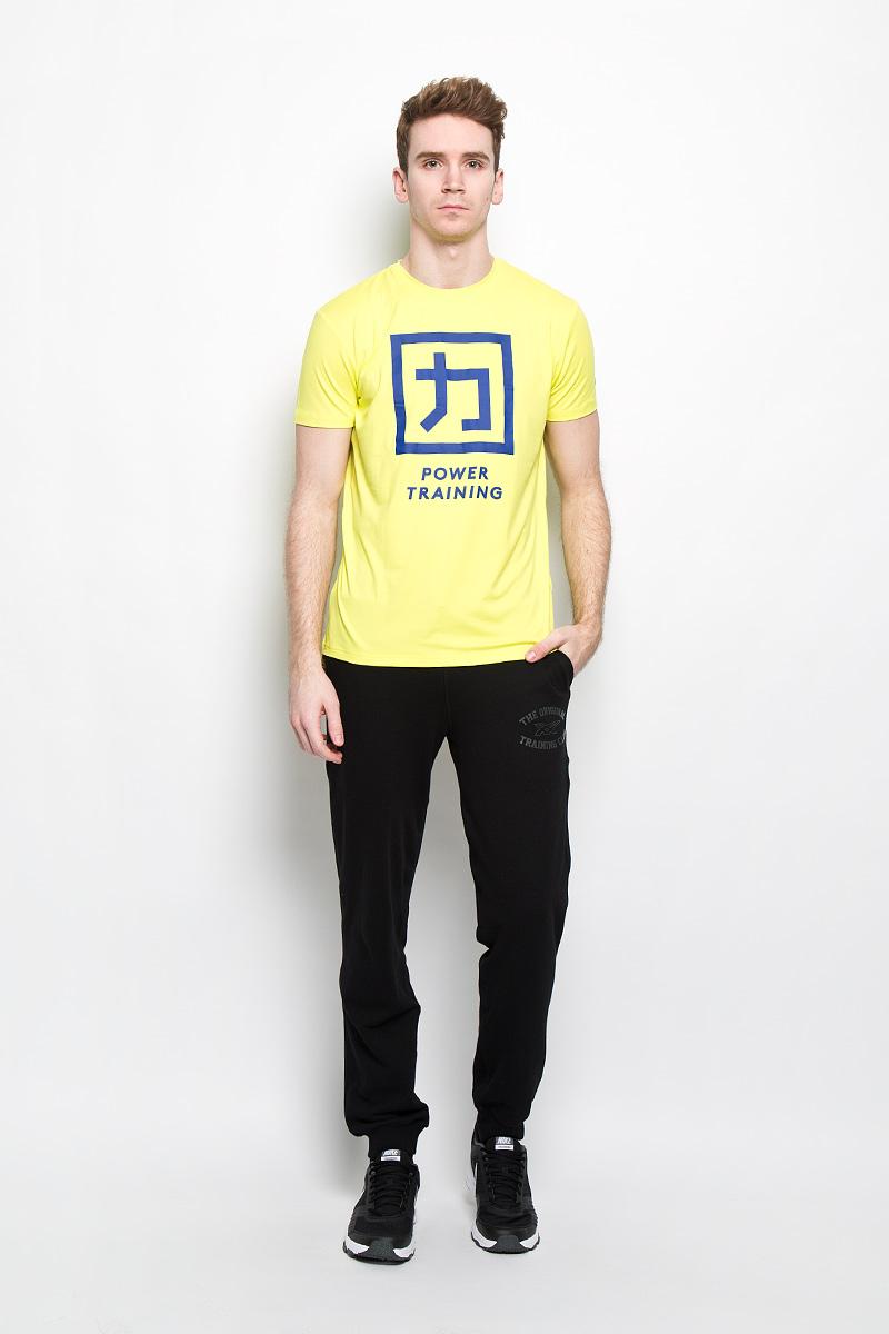 131464-0416Стильная мужская футболка Asics Power Training Top, выполненная из эластичного полиэстера, обладает высокой теплопроводностью, воздухопроницаемостью и гигроскопичностью и великолепно отводит влагу, оставляя тело сухим даже во время интенсивных тренировок. Такая футболка превосходно подойдет для занятий спортом и активного отдыха. Модель с короткими рукавами и круглым вырезом горловины - идеальный вариант для создания образа в спортивном стиле. Футболка оформлена крупным принтом спереди. Такая модель подарит вам комфорт в течение всего дня и послужит замечательным дополнением к вашему гардеробу.