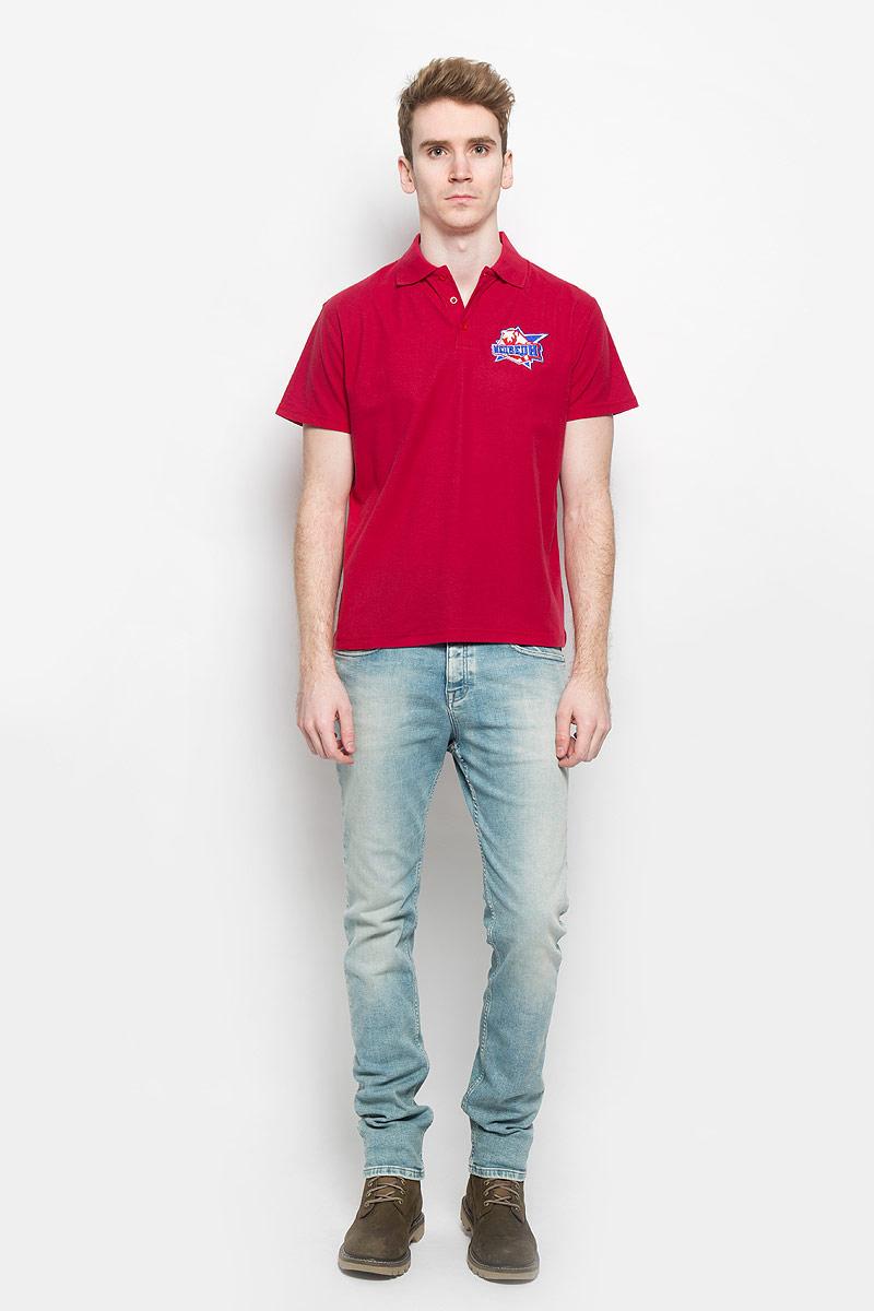 PM001-WHITEСтильная мужская футболка-поло Robin Ruth, изготовленная из хлопка и полиэстера, мягкая и приятная на ощупь, не сковывает движения и позволяет коже дышать, обеспечивая комфорт. Модель с отложным воротником-поло и короткими рукавами от ворота застегивается на три пластиковые пуговицы. Модель оформлена вышивкой логотипа хоккейной команды Медведи из сериала Молодежка. Эта модель послужит отличным дополнением к вашему гардеробу. В ней вы всегда будете чувствовать себя уютно и комфортно.