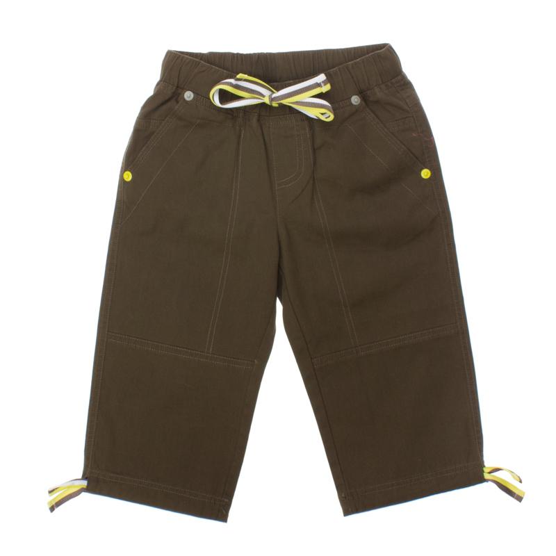 Бриджи для мальчиков. 161155161155* 100% хлопок * цвет - темный хаки * пояс на резинке * есть утягивающие шнурки на поясе и внизу * 2 кармана спереди, 2 кармана сзади