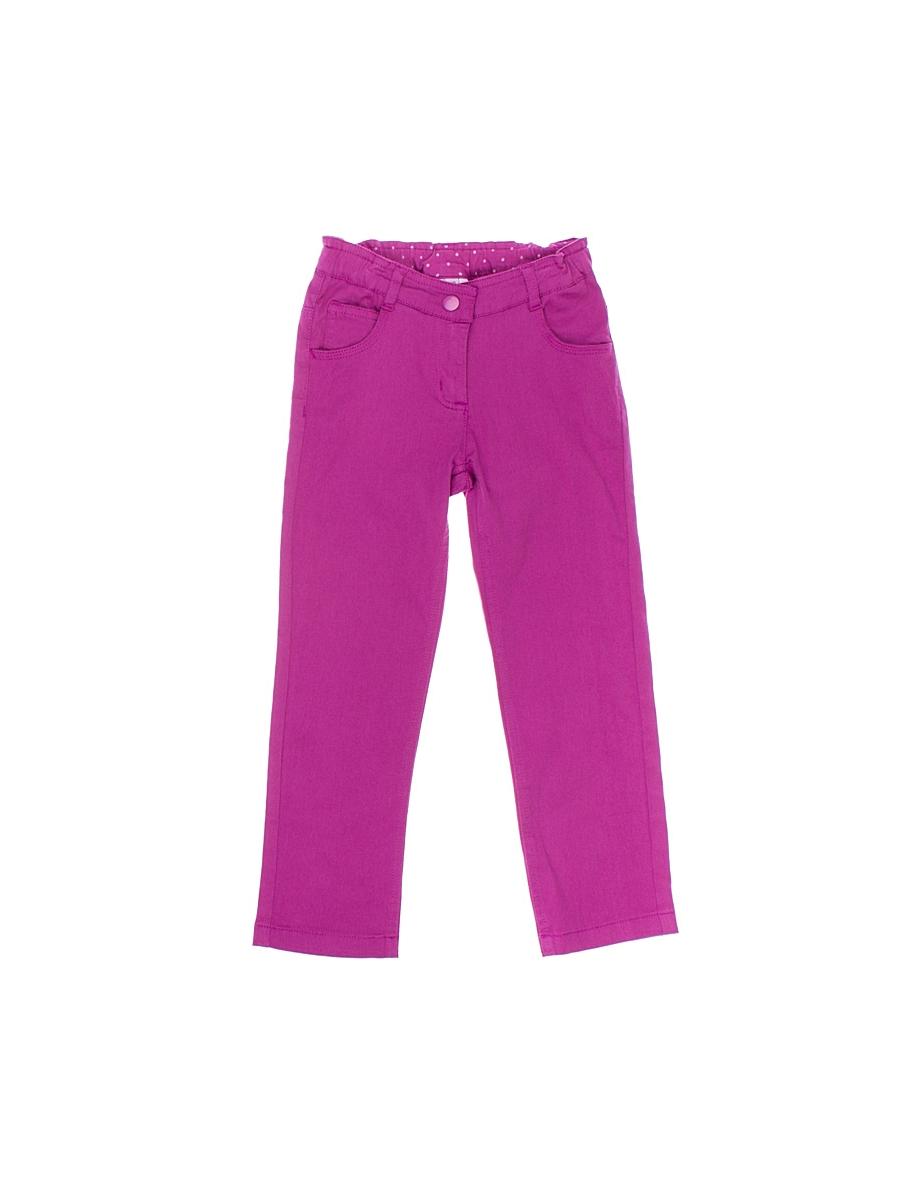Брюки для девочки. 162154162154Удобные брюки для девочки PlayToday идеально подойдут вашей маленькой моднице. Изготовленные из эластичного хлопка, они мягкие и приятные на ощупь, не сковывают движения, сохраняют тепло и позволяют коже дышать, обеспечивая наибольший комфорт. Брюки застегиваются на металлическую кнопку в поясе, также имеется ширинка на застежке-молнии и шлевки для ремня. Объем пояса регулируется при помощи эластичной резинки на пуговицах. Спереди модель дополнена двумя втачными карманами и небольшим накладными кармашком, а сзади - двумя накладными карманами. Практичные и стильные брюки идеально подойдут вашей малышке, а модная расцветка и высококачественный материал позволят ей комфортно чувствовать себя в течение дня!
