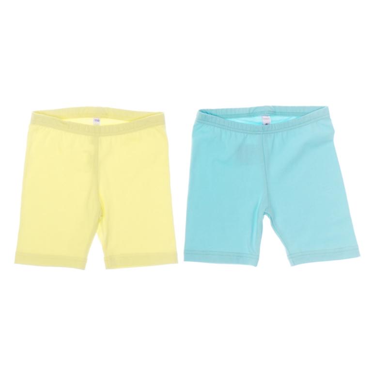Шорты162170Практичные трикотажные шорты для девочки PlayToday прекрасно подойдут вашей моднице и станут отличным дополнением к летнему гардеробу. Изготовленные из эластичного хлопка, они мягкие и приятные на ощупь, не сковывают движения и позволяют коже дышать, не раздражают нежную кожу ребенка, обеспечивая наибольший комфорт. Шортики на талии имеют эластичную резинку, благодаря чему они не сдавливают живот ребенка и не сползают. В таких шортах ваша принцесса будет чувствовать себя комфортно и уютно! В комплект входят две пары шорт разных цветов.