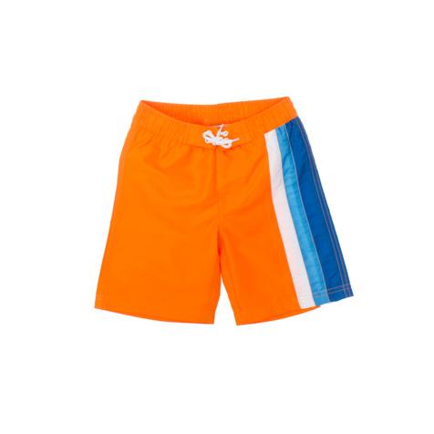 Шорты пляжные для мальчика Sport. 160009160009Мягкие шорты для плавания PlayToday Sport изготовлены из быстросохнущего материала. Сетчатая несъемная вставка в виде трусов-слипов обеспечивает удобство и комфорт. Модель на талии дополнена широкой эластичной резинкой, которую можно утянуть при помощи вставки со шнуровкой. Имеется имитация ширинки. Одна из брючин оформлена контрастными вставками. Яркие и модные шорты станут отличным дополнением к гардеробу юного модника. В них ребенок будет чувствовать себя в воде уютно и комфортно.