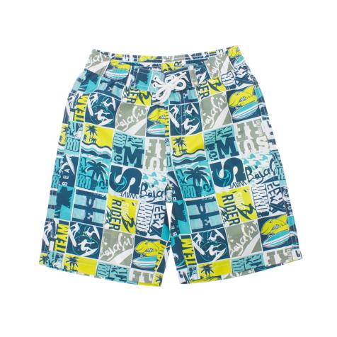 Шорты пляжные для мальчиков. 161171161171* яркая ткань в набивку * быстро сохнет * пояс на резинке * есть регулирующие шнурки * внутри сетчатые трусики